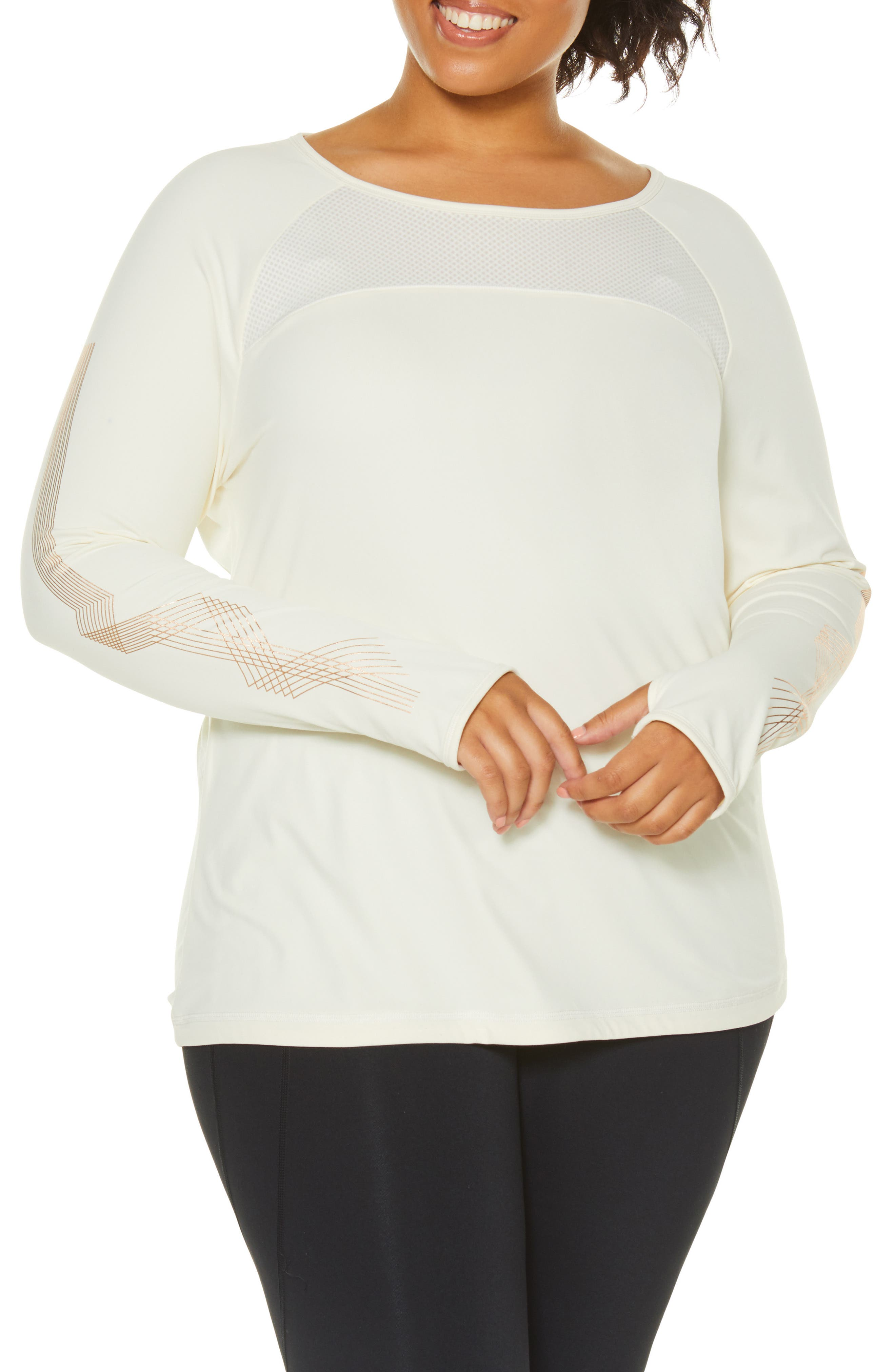 Integral Long Sleeve Tee,                             Alternate thumbnail 4, color,                             PRISTINE