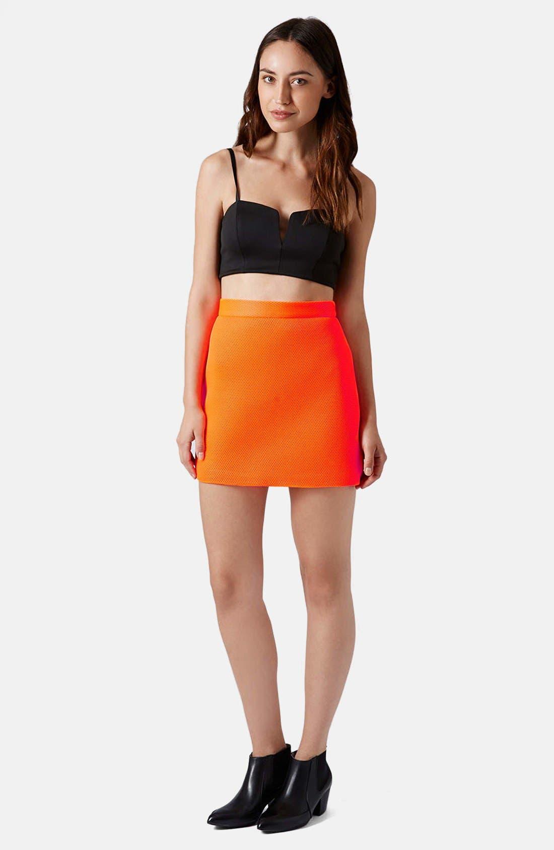 Airtex Miniskirt,                             Alternate thumbnail 10, color,
