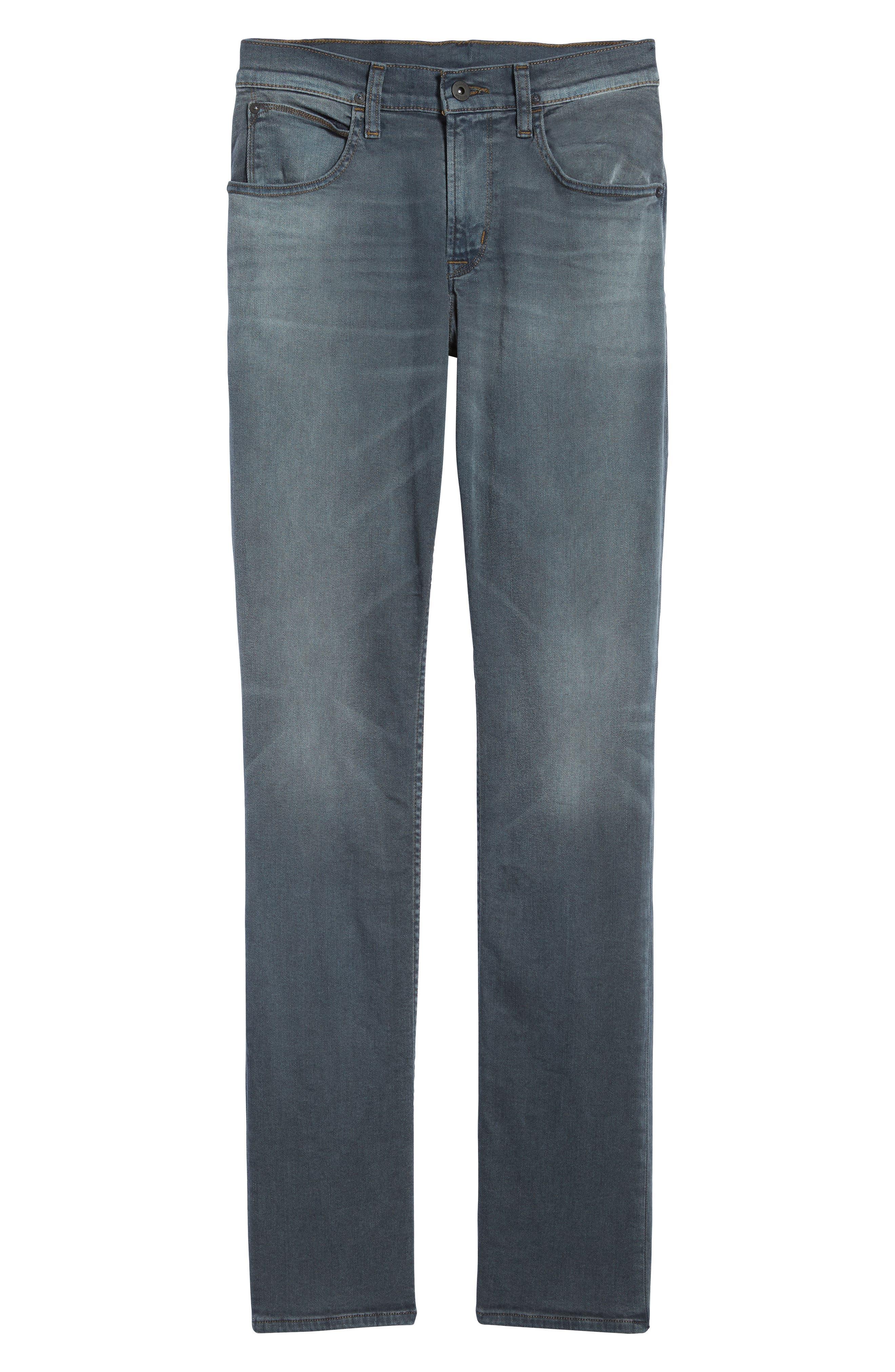 Byron Slim Straight Leg Jeans,                             Alternate thumbnail 6, color,                             020