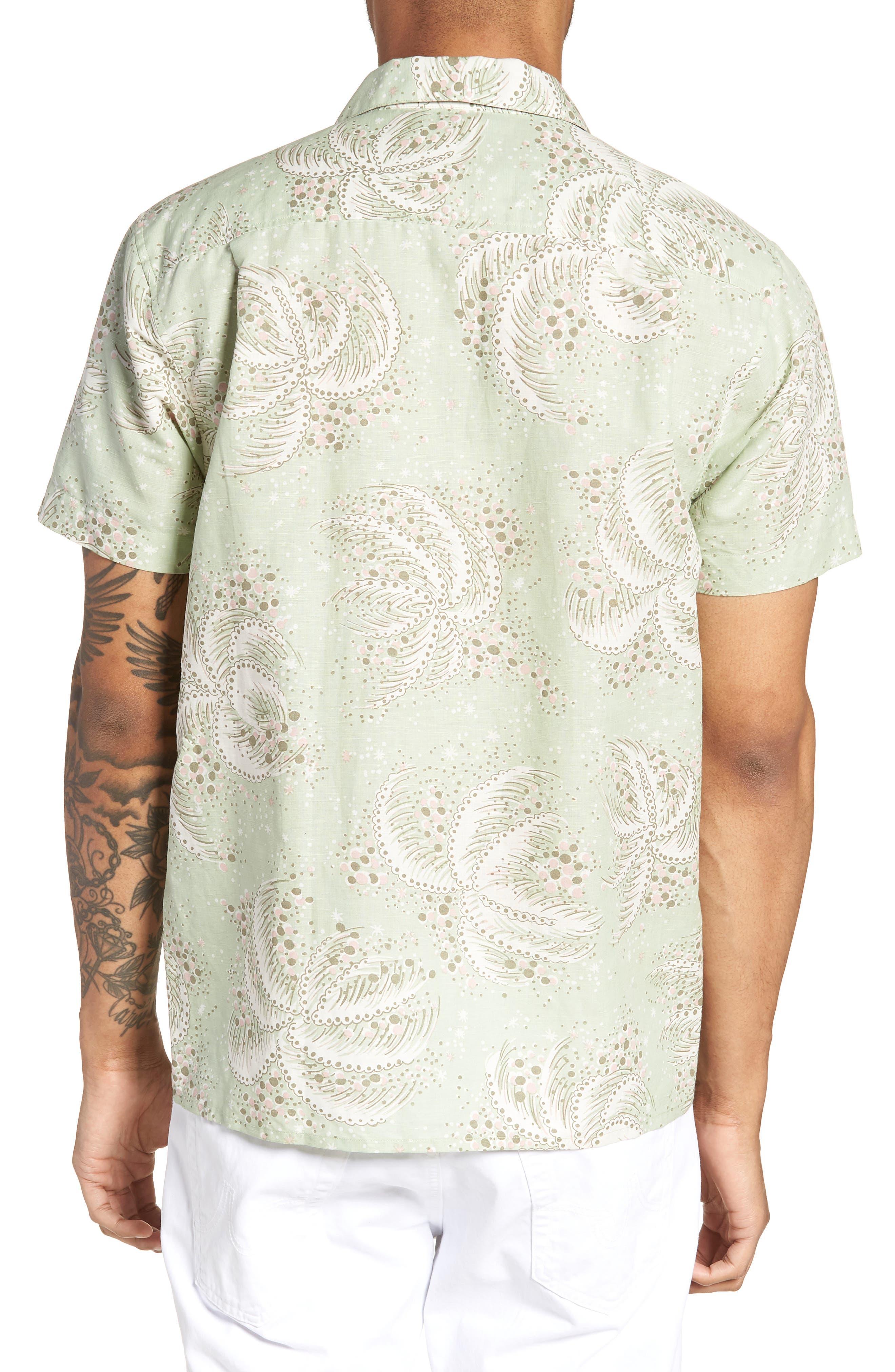 Malick Slim Fit Print Sport Shirt,                             Alternate thumbnail 2, color,                             300