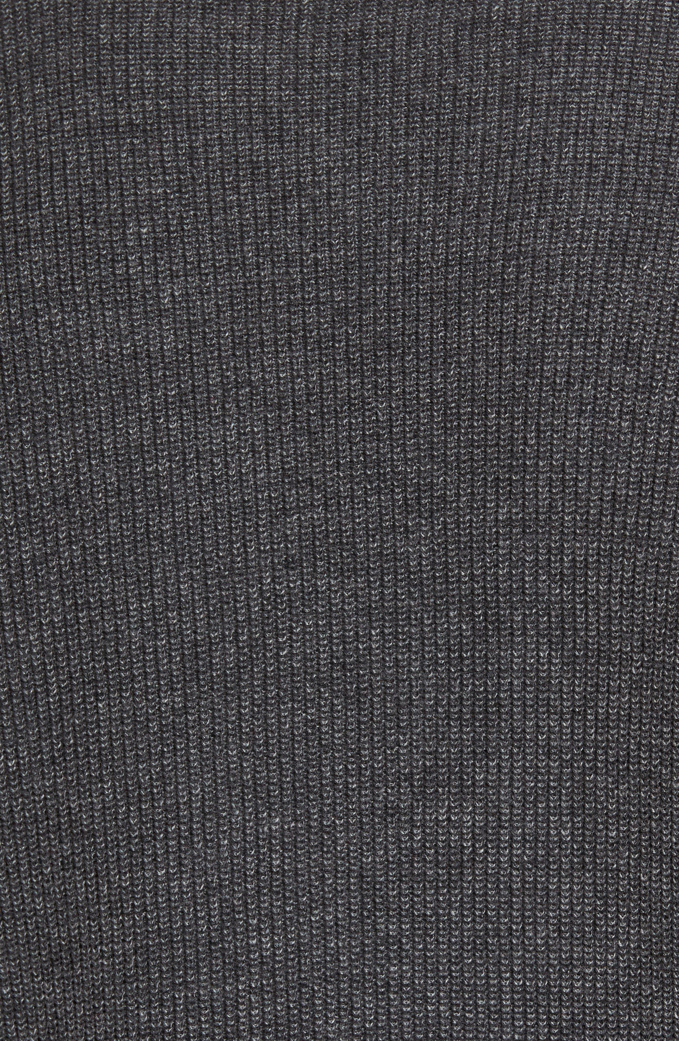 Supima<sup>®</sup> Cotton V-Neck Sweater,                             Alternate thumbnail 5, color,                             021