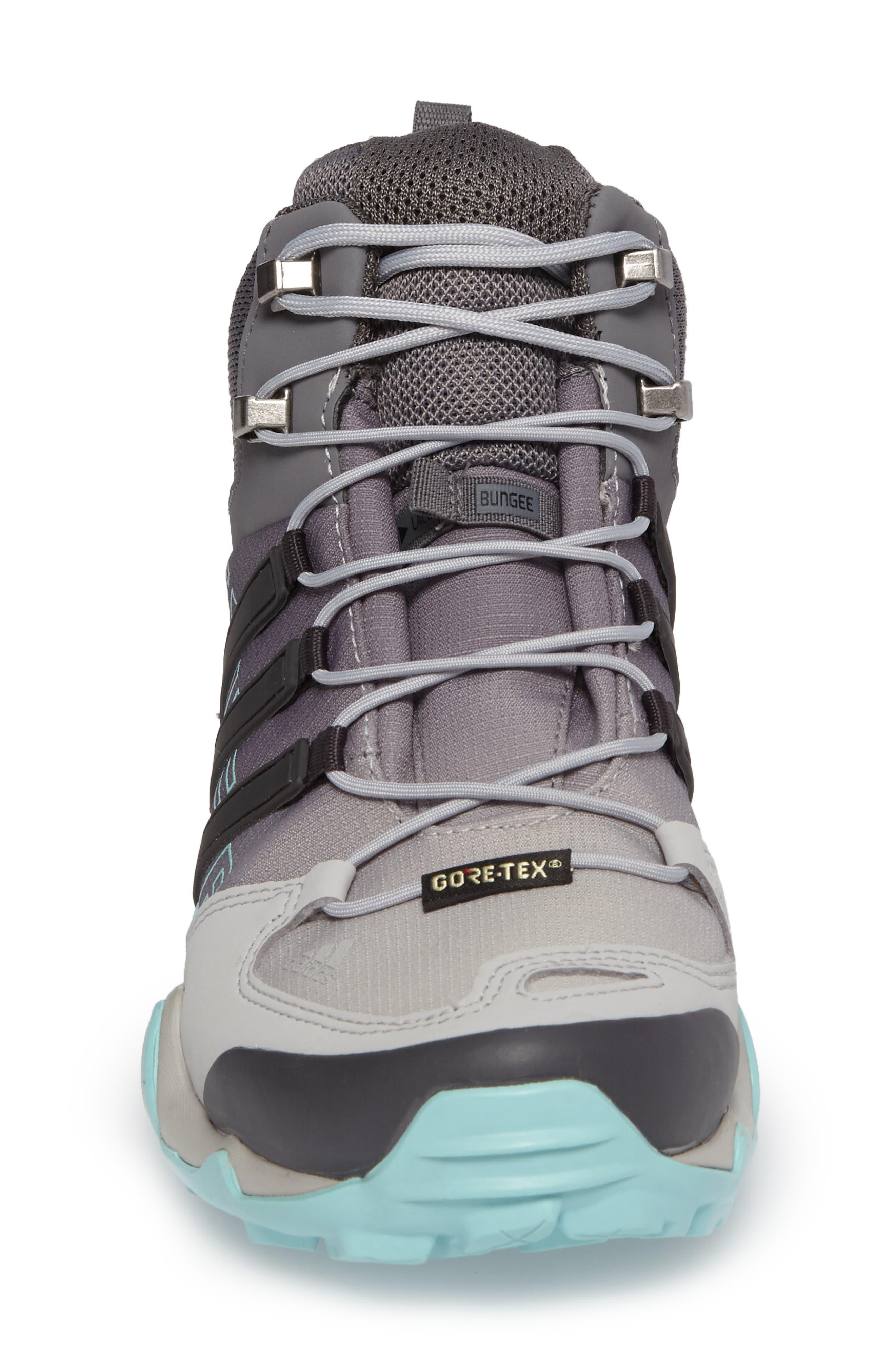 Terrex Swift R GTX Mid Hiking Boot,                             Alternate thumbnail 4, color,                             020
