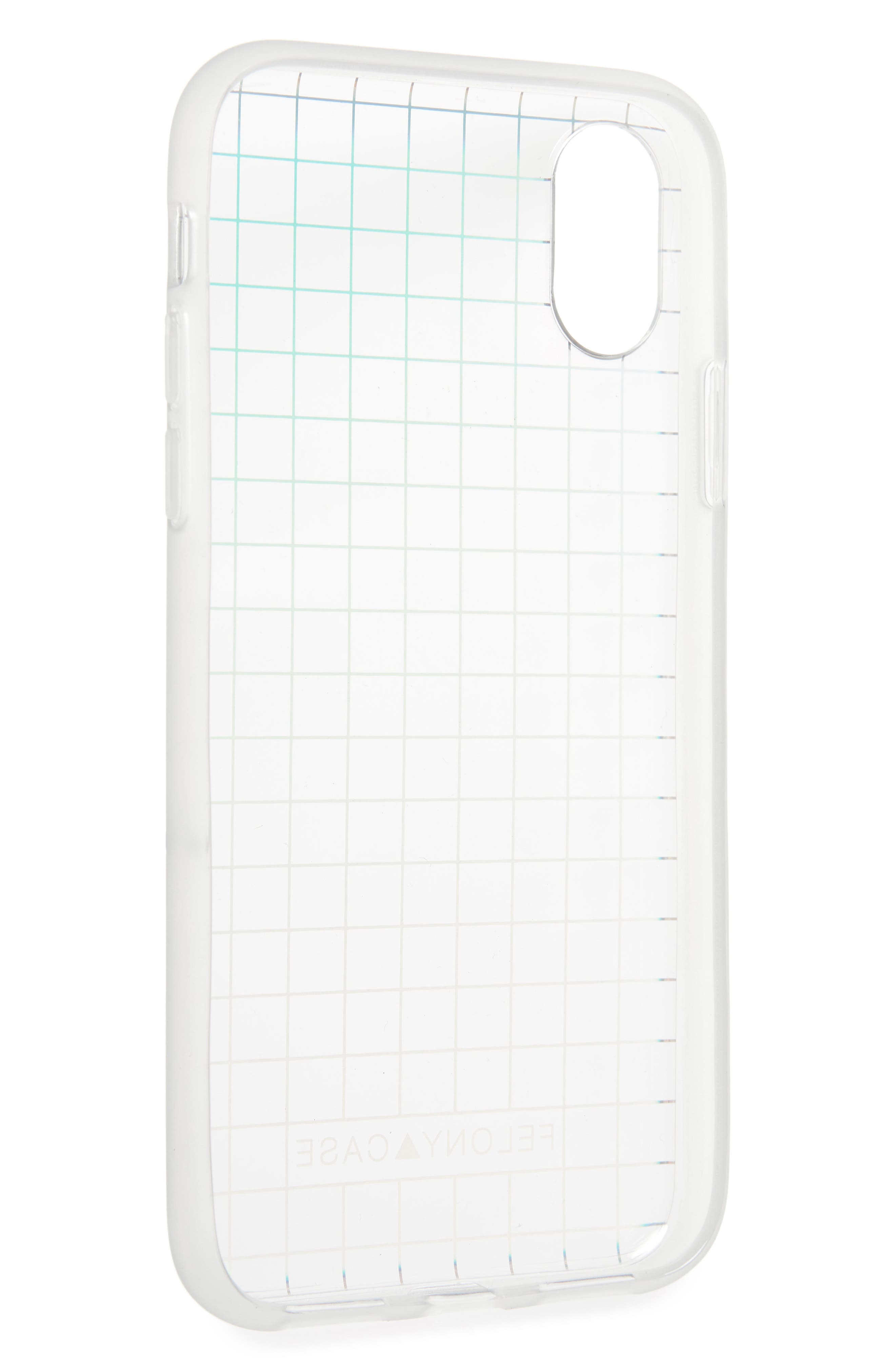 Holographic iPhone X/Xs Case,                             Alternate thumbnail 2, color,                             001