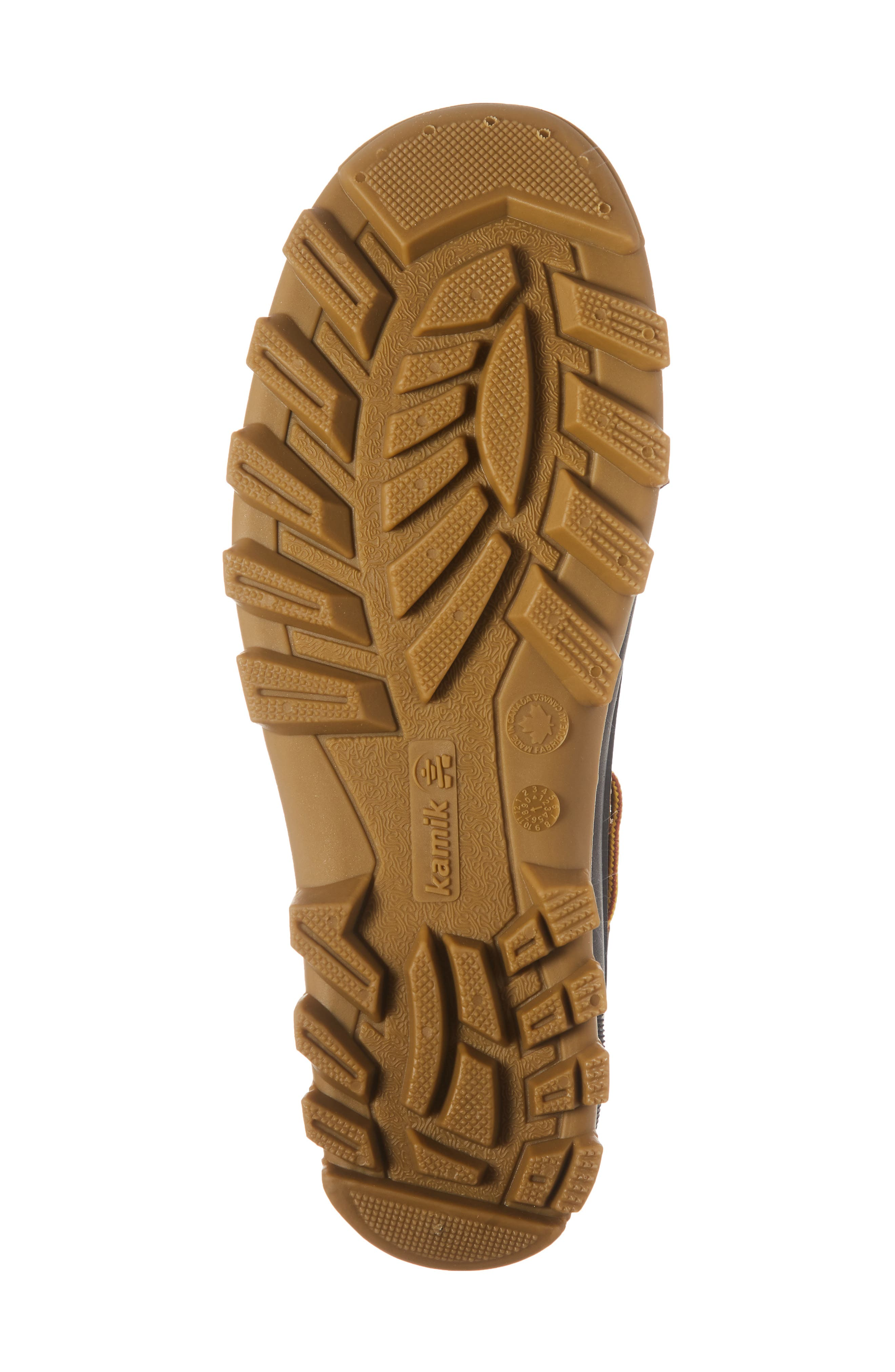 Yukon Short Waterproof Boot,                             Alternate thumbnail 6, color,                             TAN LEATHER