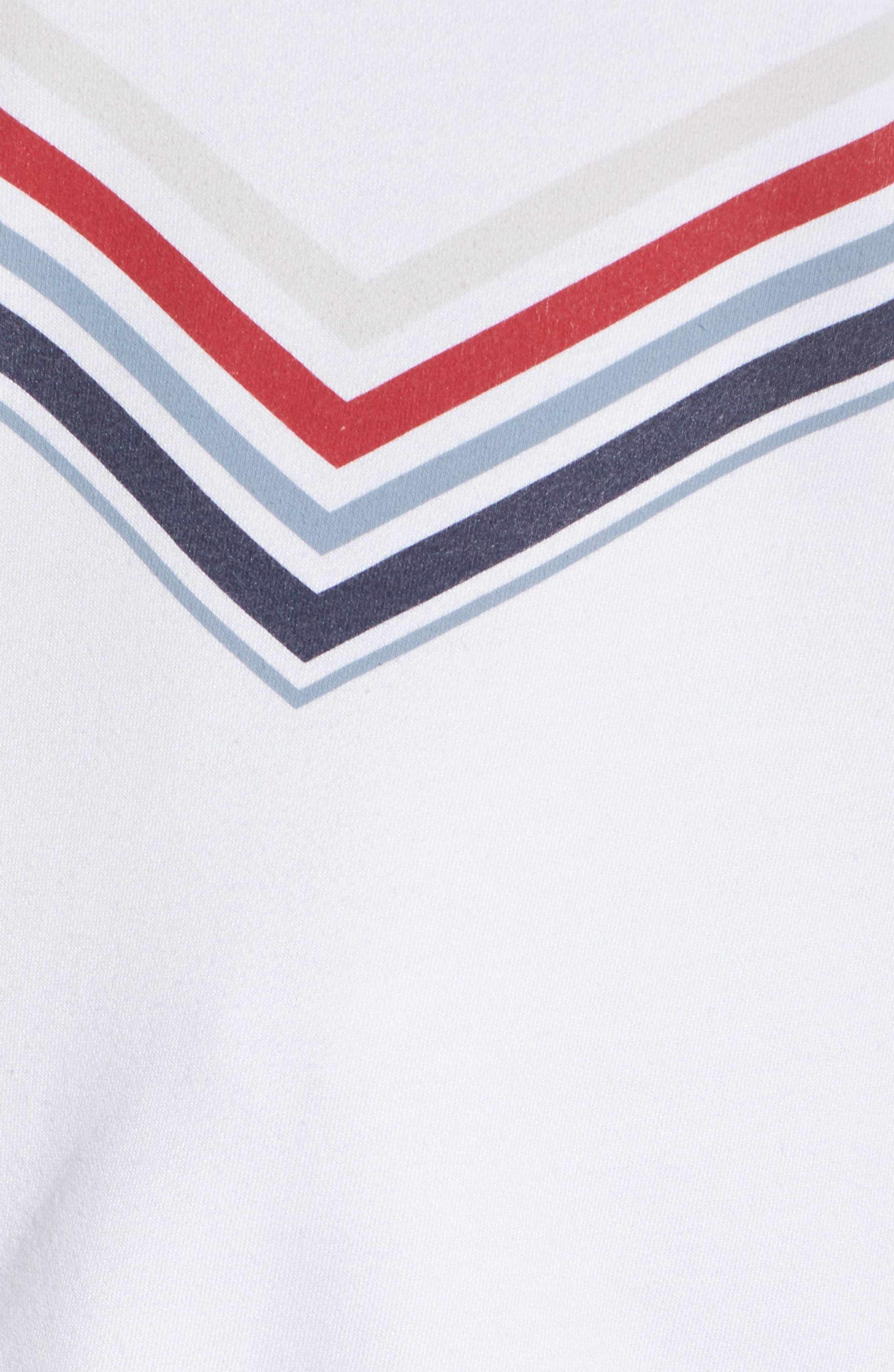 Raglan Pullover,                             Alternate thumbnail 5, color,                             WHITE