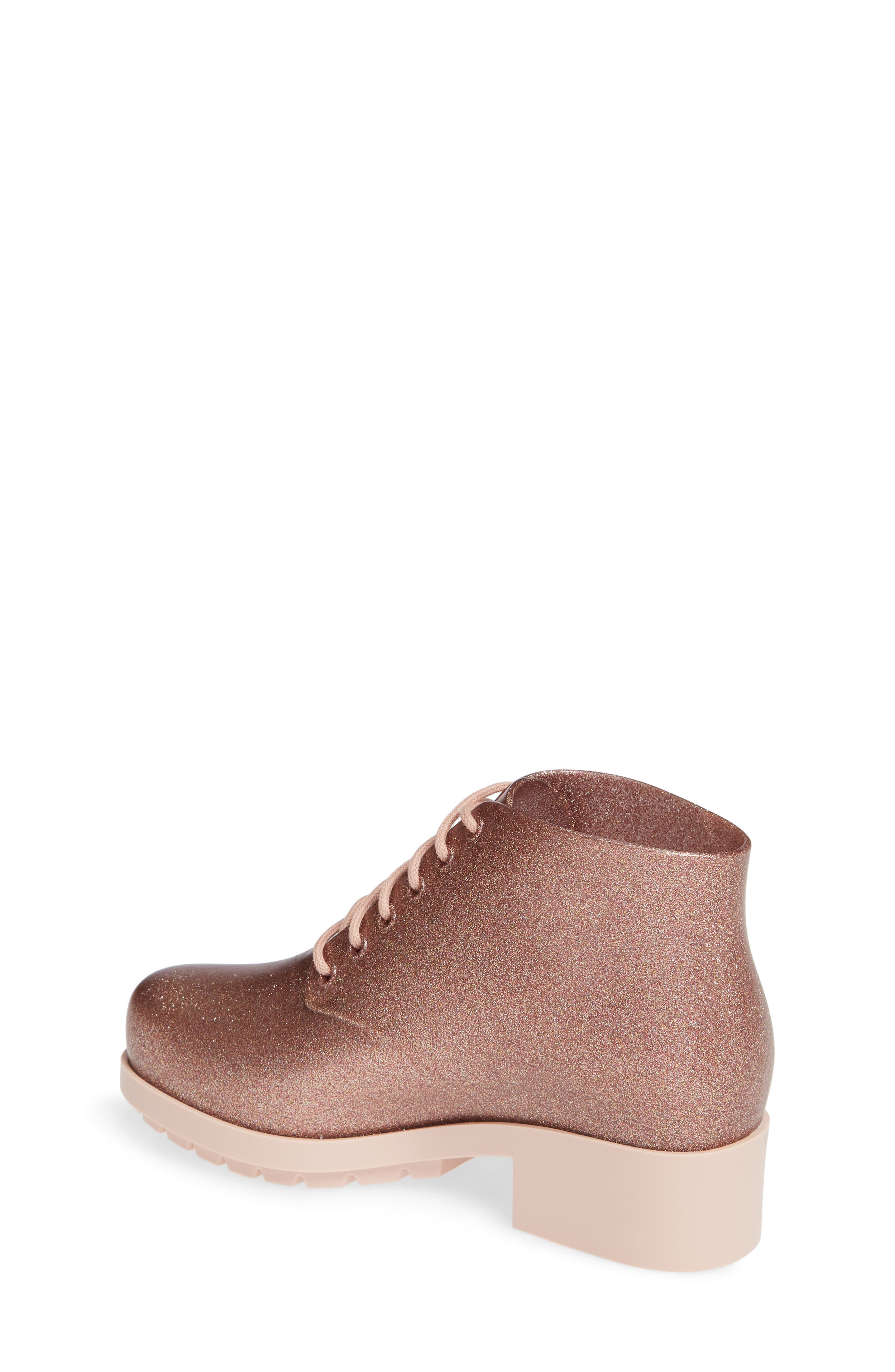 MEL BY MELISSA,                             'Stella' Boot,                             Alternate thumbnail 2, color,                             PINK STARRY