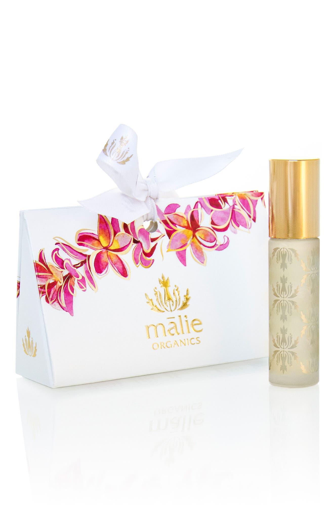Plumeria Organic Roll-On Perfume Oil,                             Alternate thumbnail 2, color,