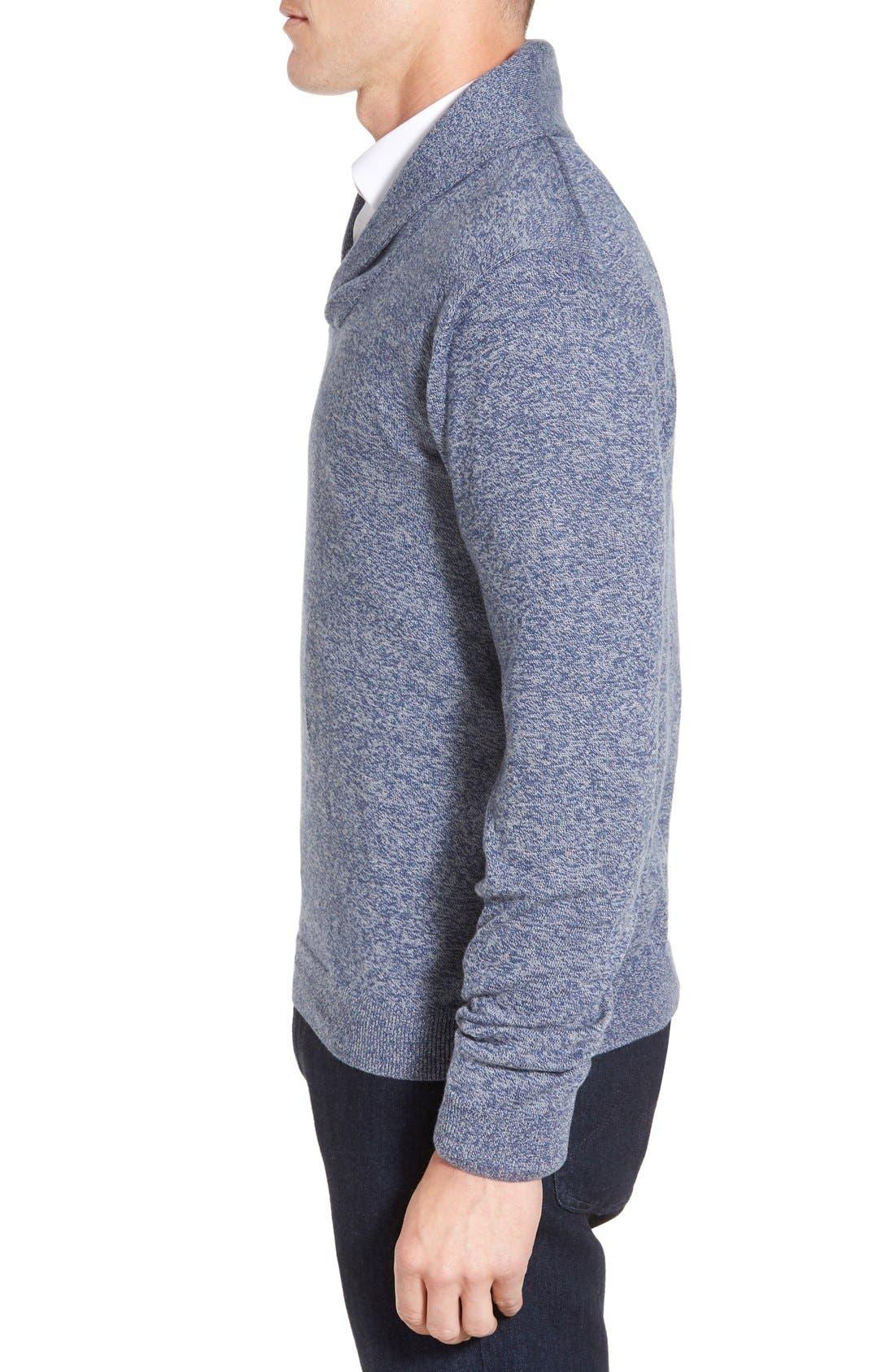 Men's Shop Shawl Collar Sweater,                             Alternate thumbnail 17, color,