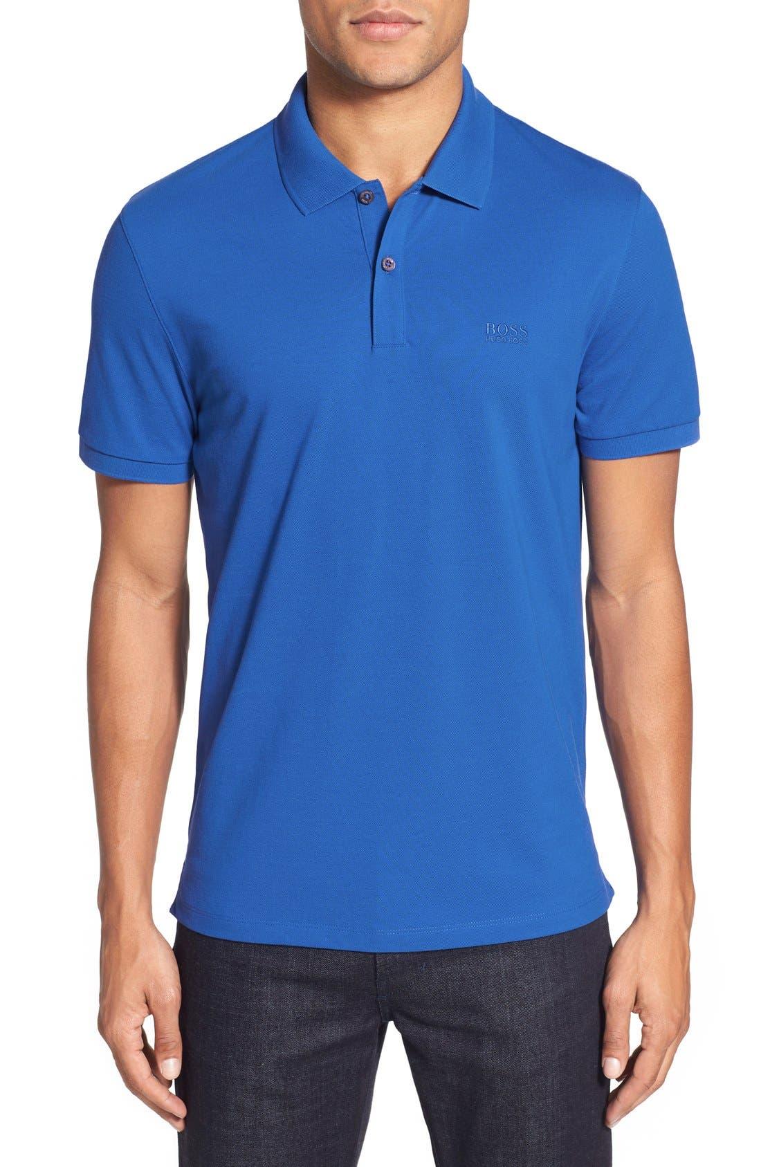 'Pallas' Regular Fit Logo Embroidered Polo Shirt,                             Main thumbnail 10, color,