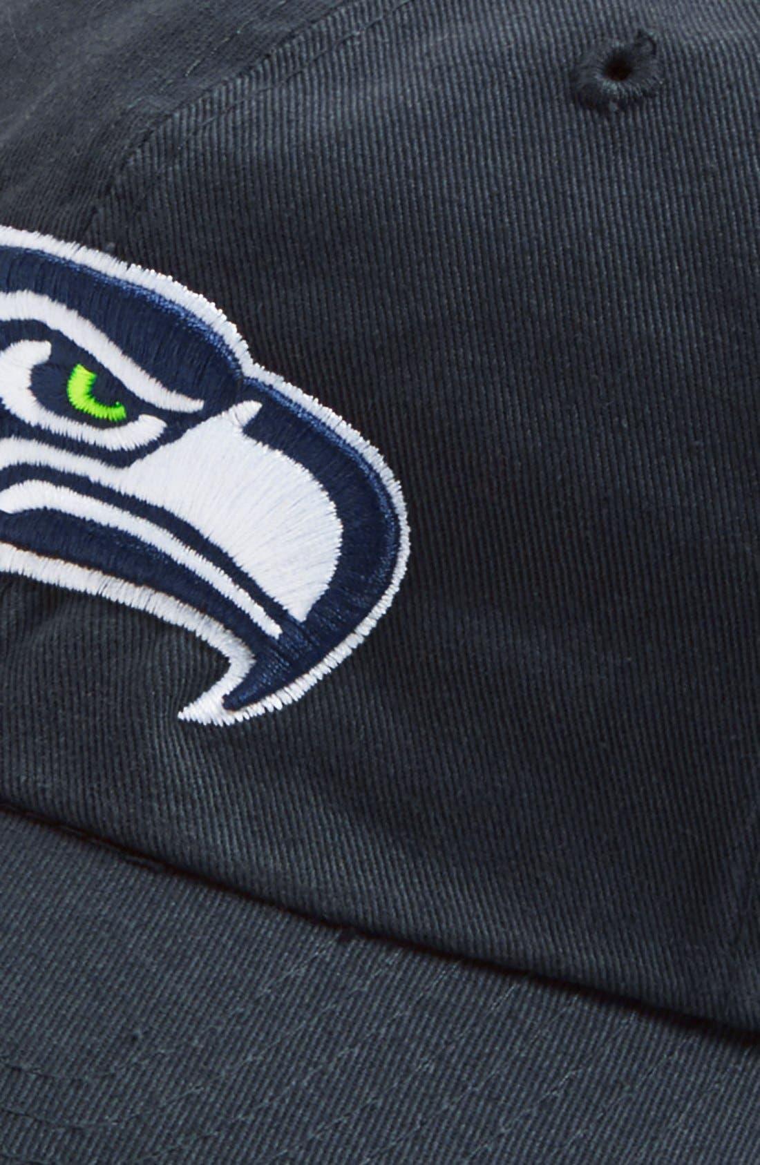 'Seattle Seahawks - Clean Up' Cap,                             Alternate thumbnail 2, color,                             410