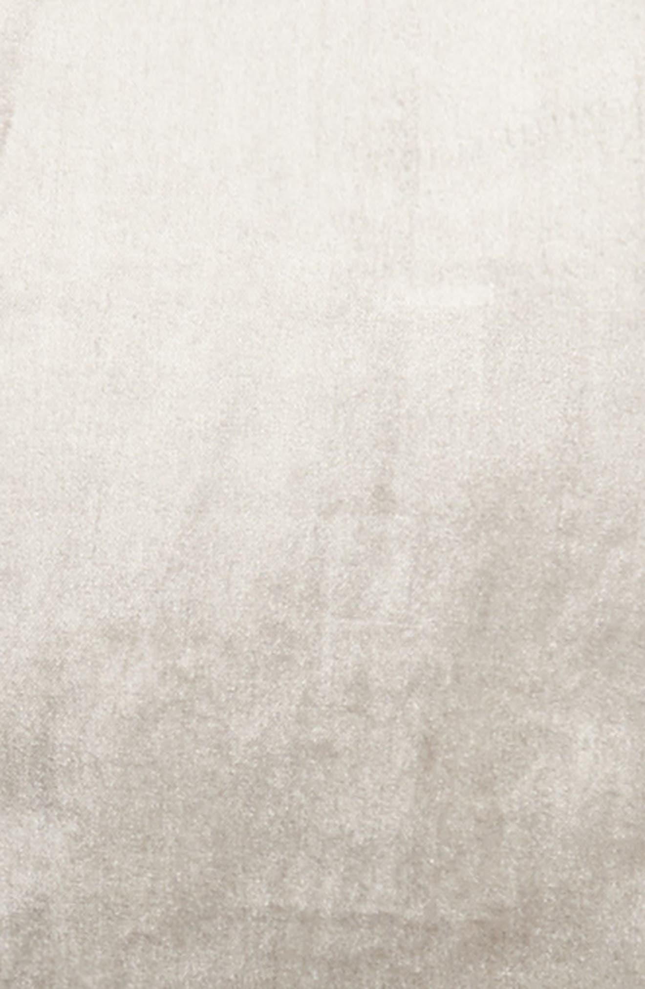 Shimmer Velvet Sham,                             Alternate thumbnail 3, color,                             GREY OPAL