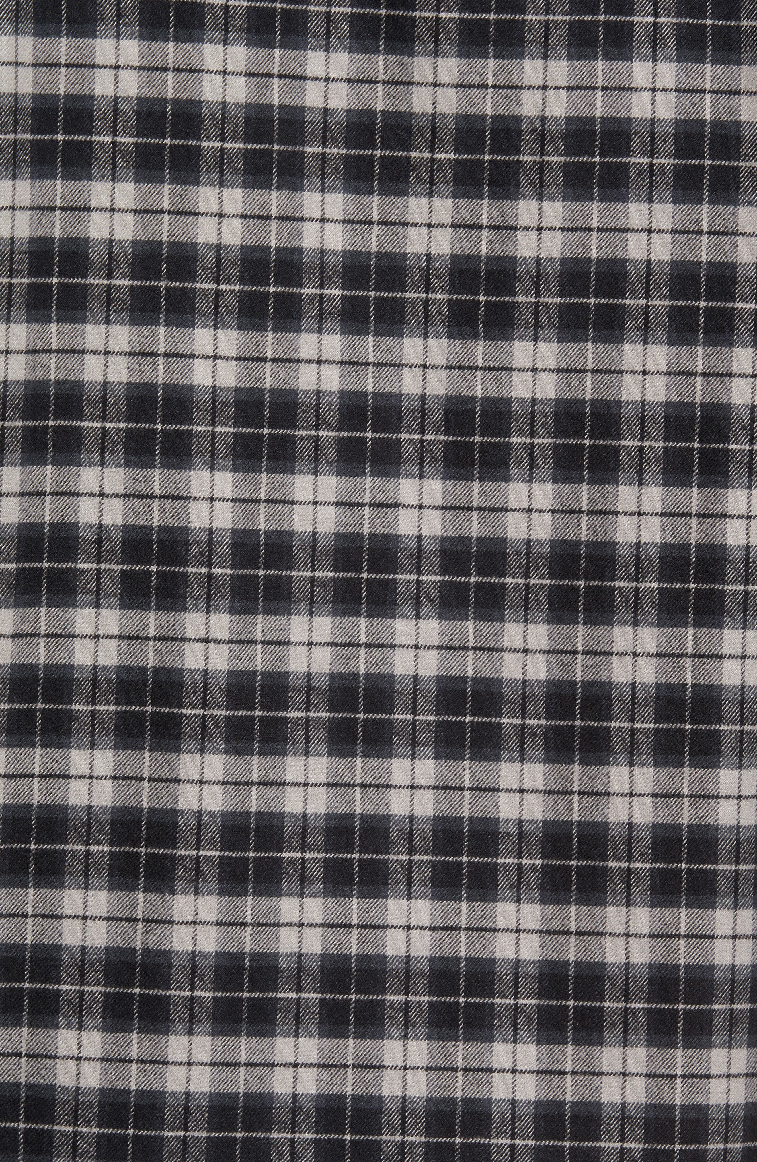 Regular Fit Plaid Sport Shirt,                             Alternate thumbnail 5, color,                             030