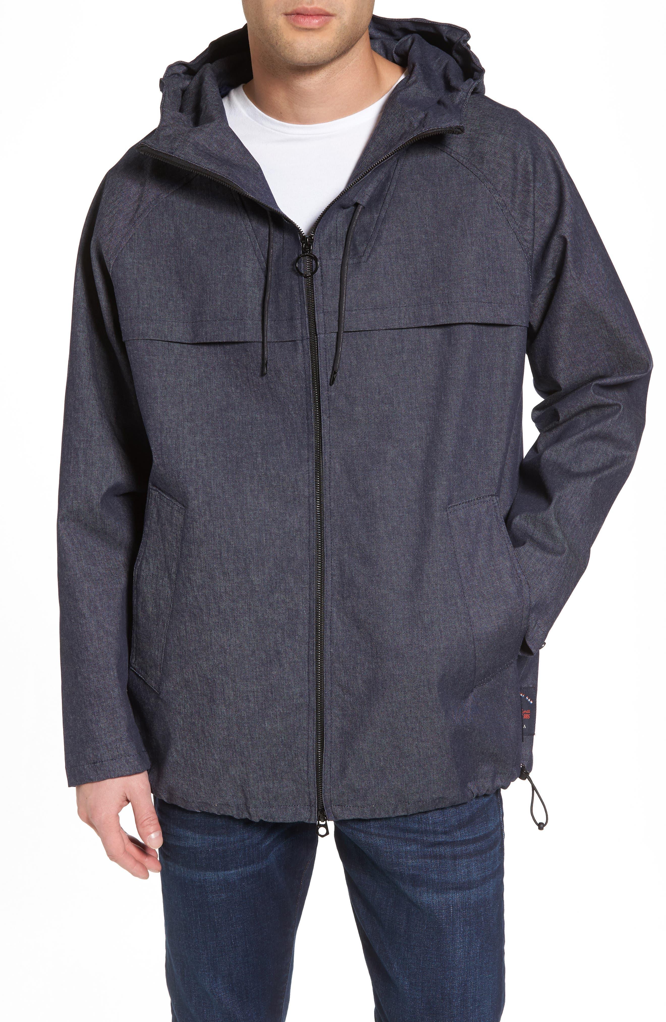 SCOTCH & SODA Denim Jacket, Main, color, 410