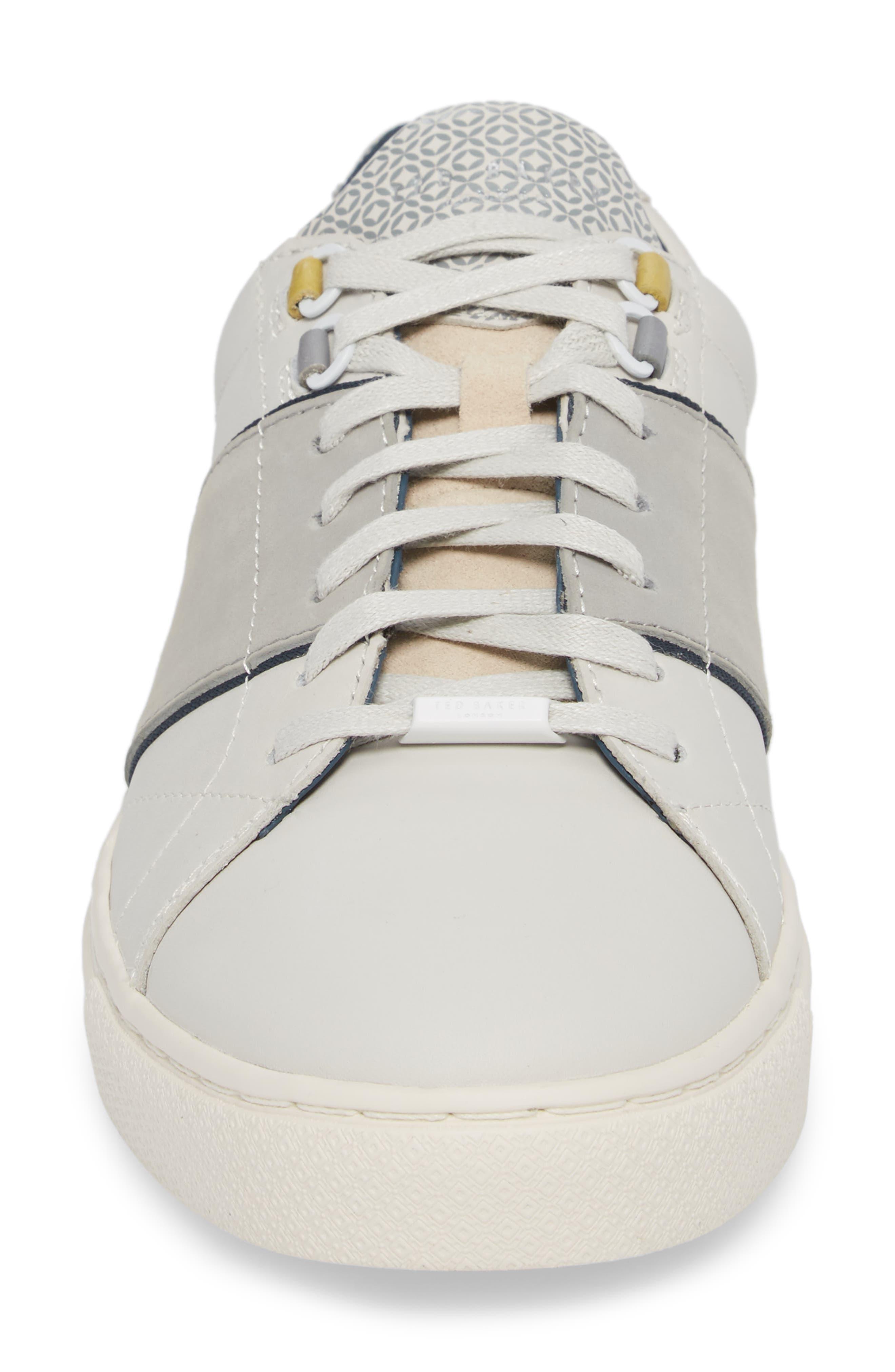 Ted Baker Quana Low Top Sneaker,                             Alternate thumbnail 4, color,                             152