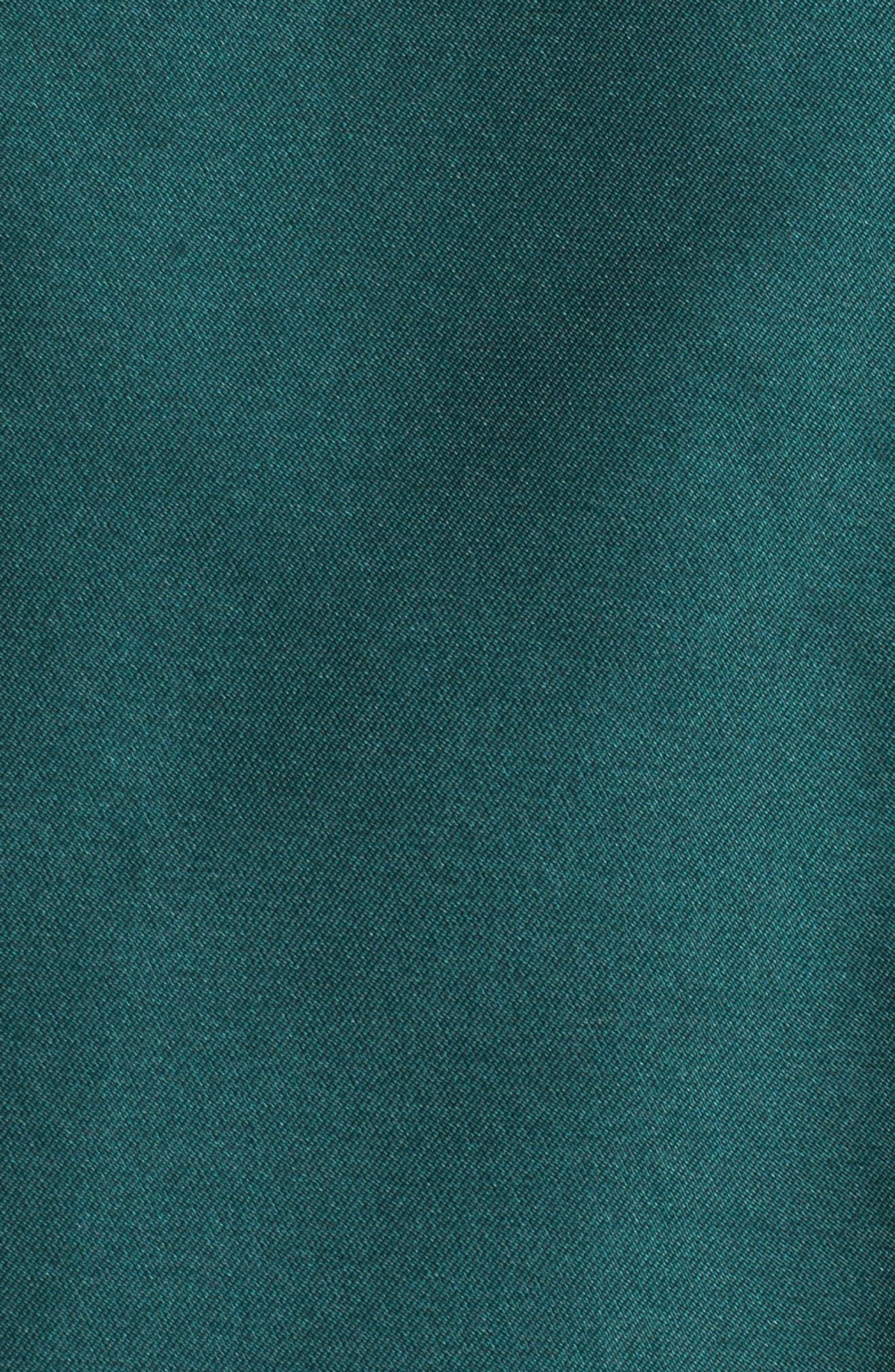 Arcadia Sleeveless High/Low Mikado Ballgown,                             Alternate thumbnail 5, color,                             304