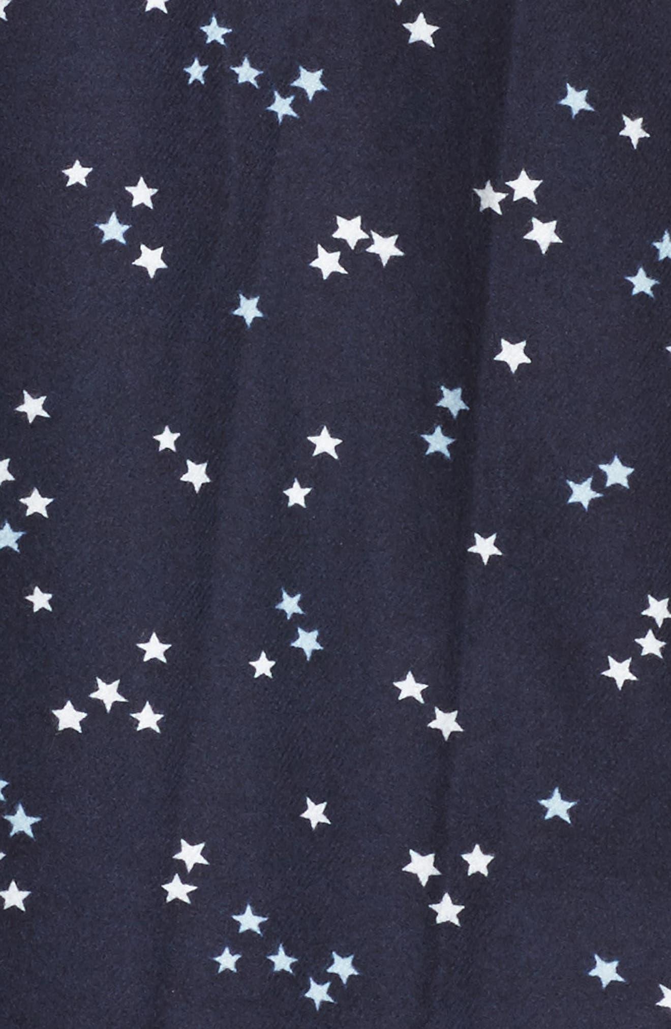 Lingerie Starlight Flannel Pajamas,                             Alternate thumbnail 23, color,
