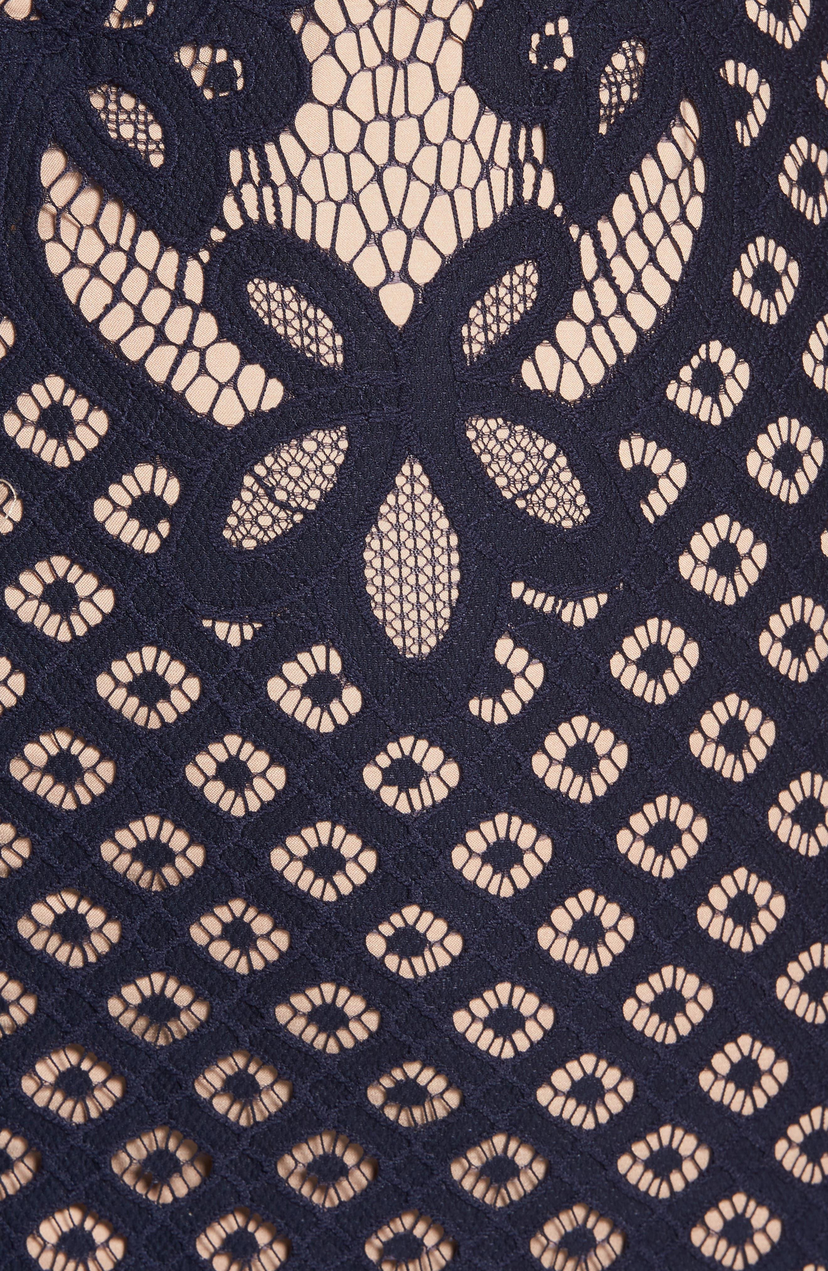 Mila Lace Dress,                             Alternate thumbnail 11, color,