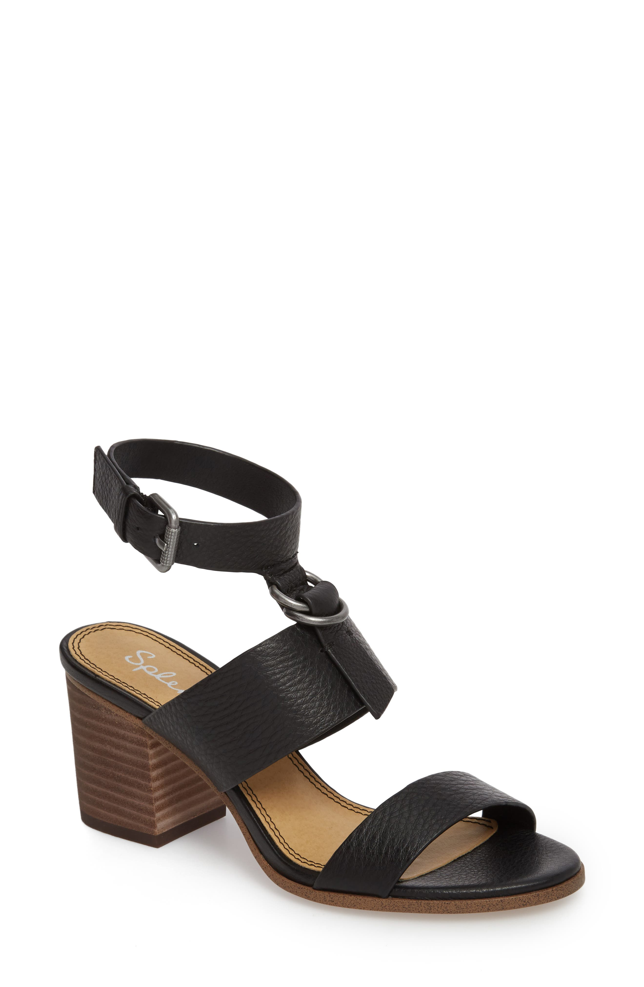 Faron Block Heel Sandal,                             Main thumbnail 1, color,