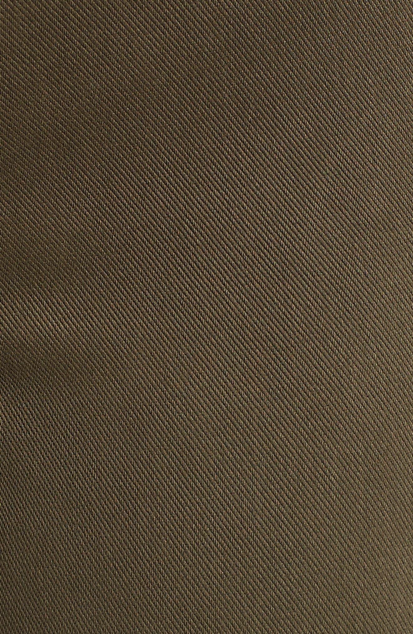 Jean-ish Leggings,                             Alternate thumbnail 5, color,                             DARK OLIVE