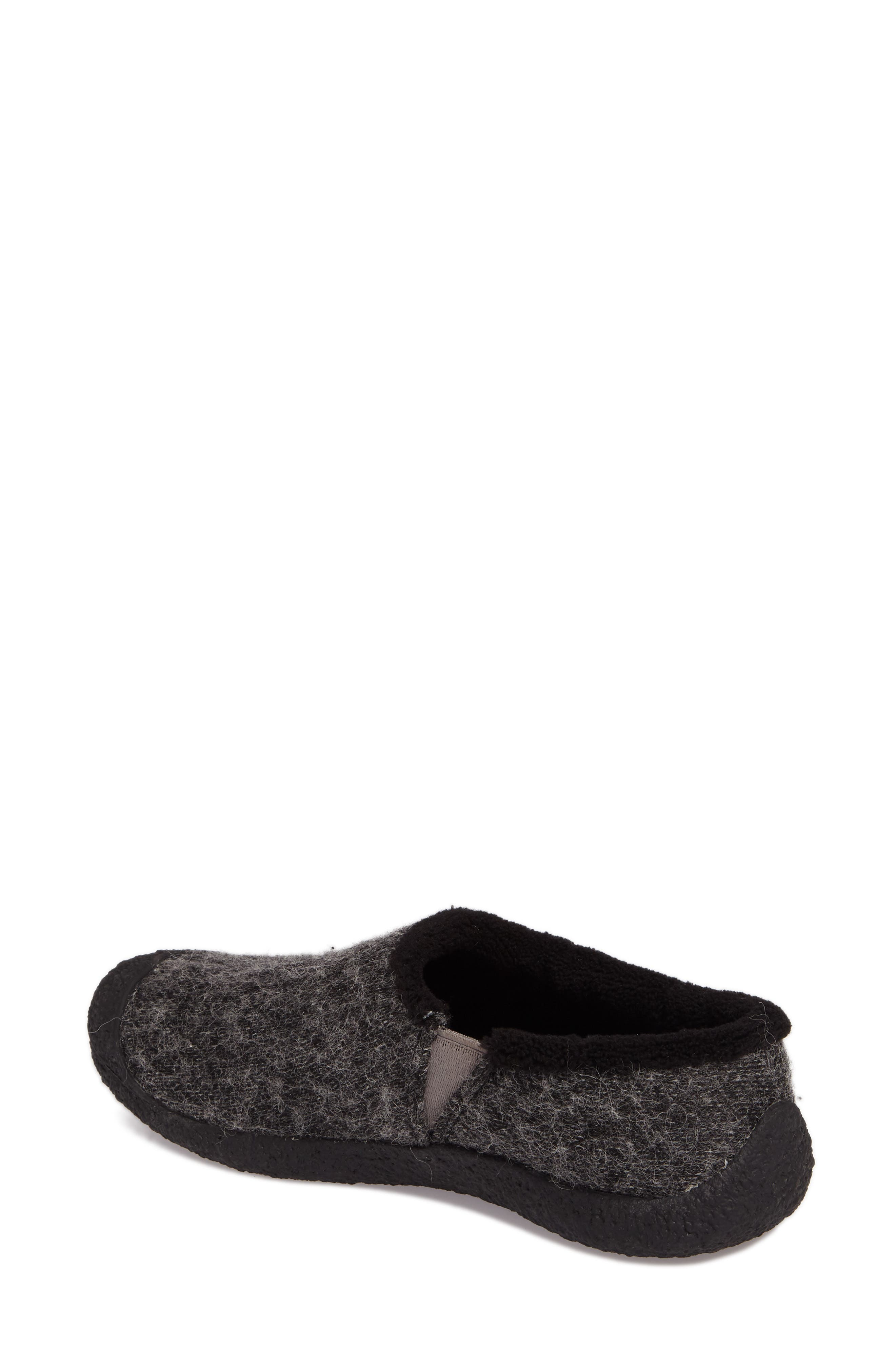 Howser Round Toe Wool Slip-on,                             Alternate thumbnail 2, color,                             001