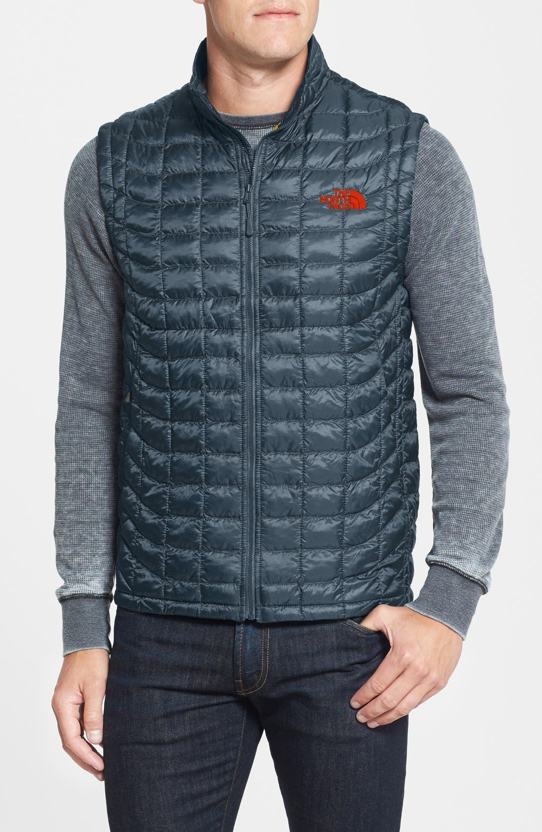 'ThermoBall<sup>™</sup>' Packable PrimaLoft<sup>®</sup> Vest,                             Main thumbnail 19, color,