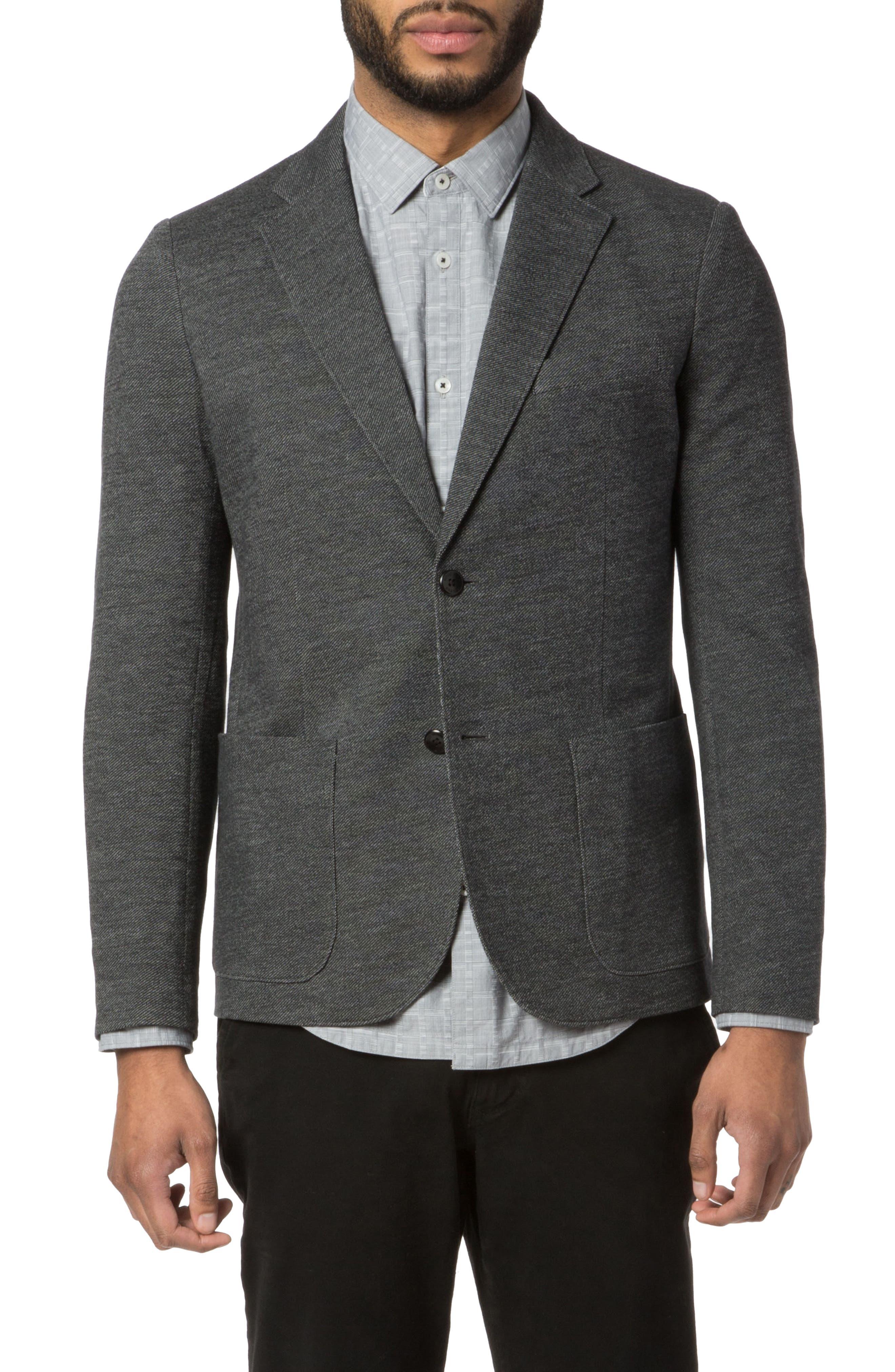 Vintage Twill Soft Blazer,                         Main,                         color, 001