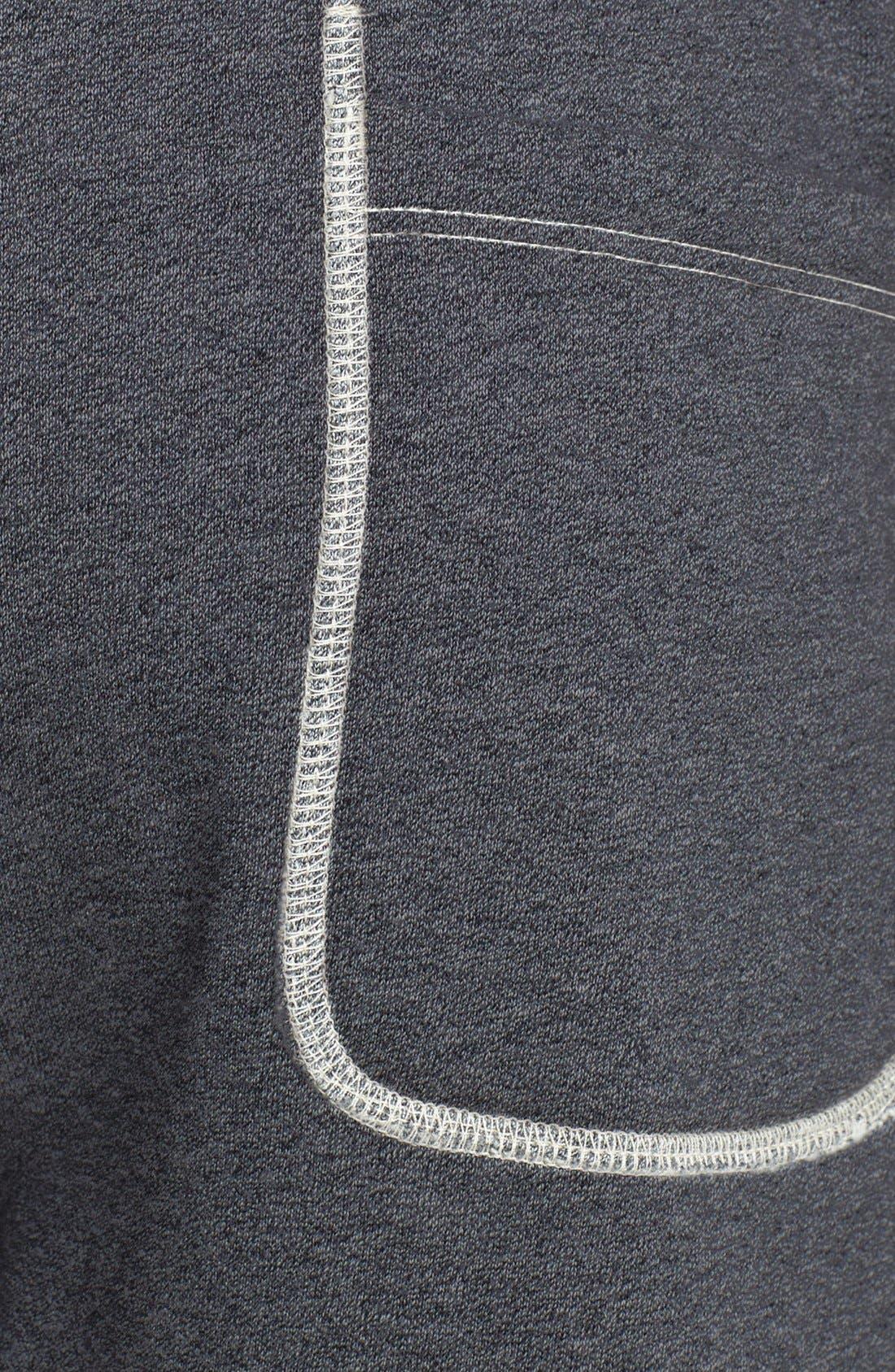 Knit Cotton Shorts,                             Alternate thumbnail 4, color,