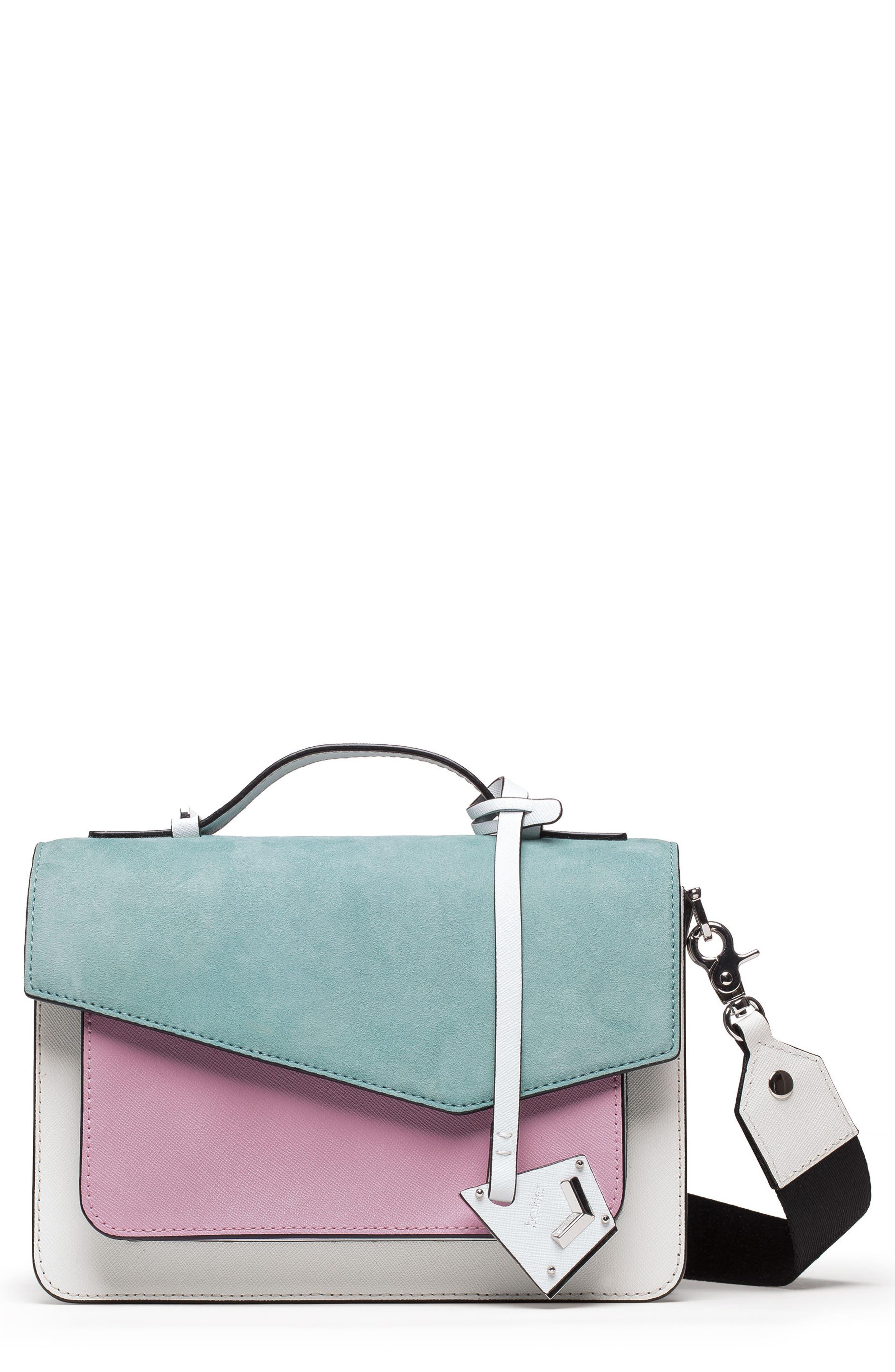 Cobble Hill Leather Crossbody Bag,                             Main thumbnail 10, color,