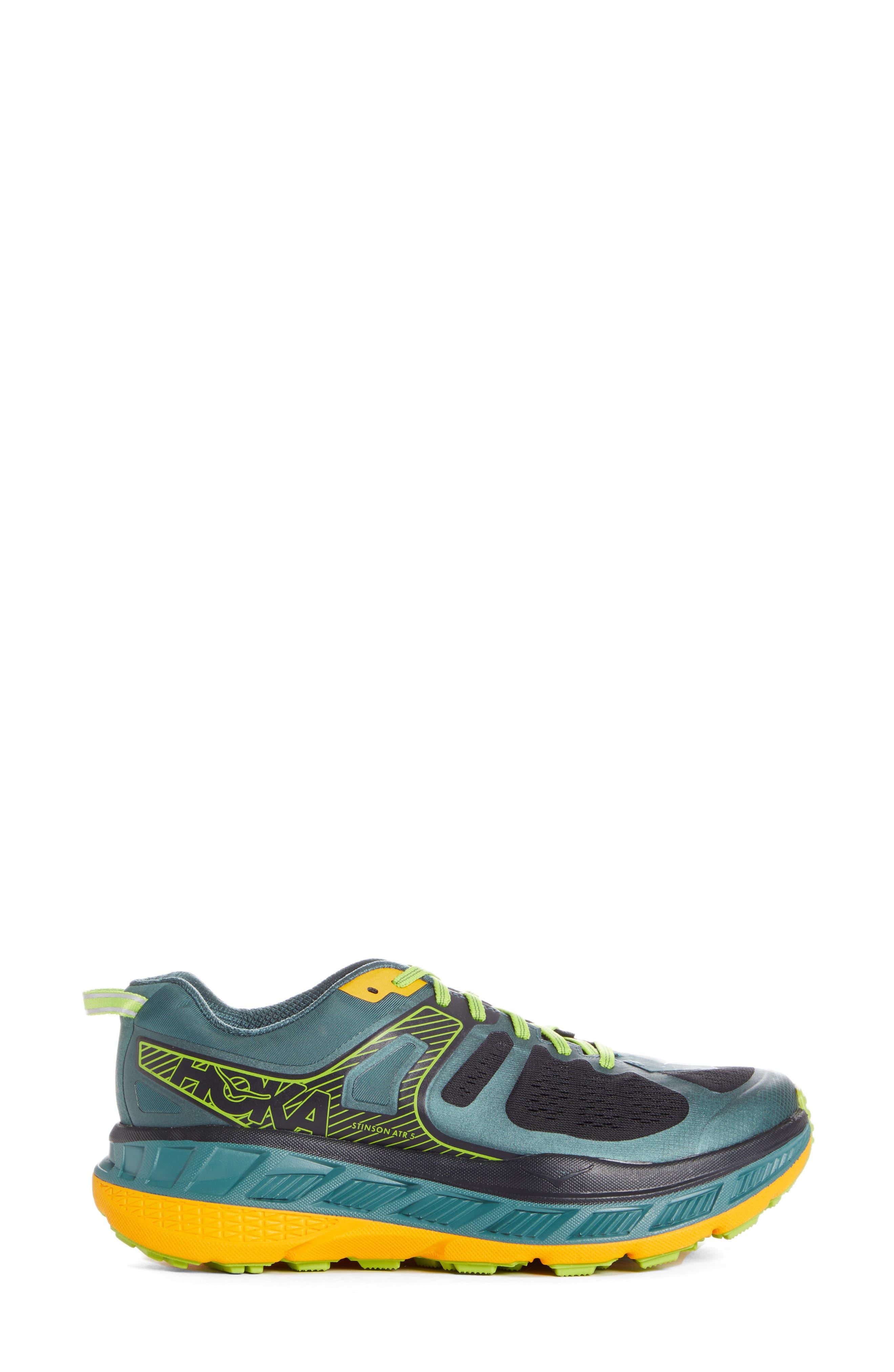 Hoka One One Stinson Atr 5 Trail Running Shoe, Green