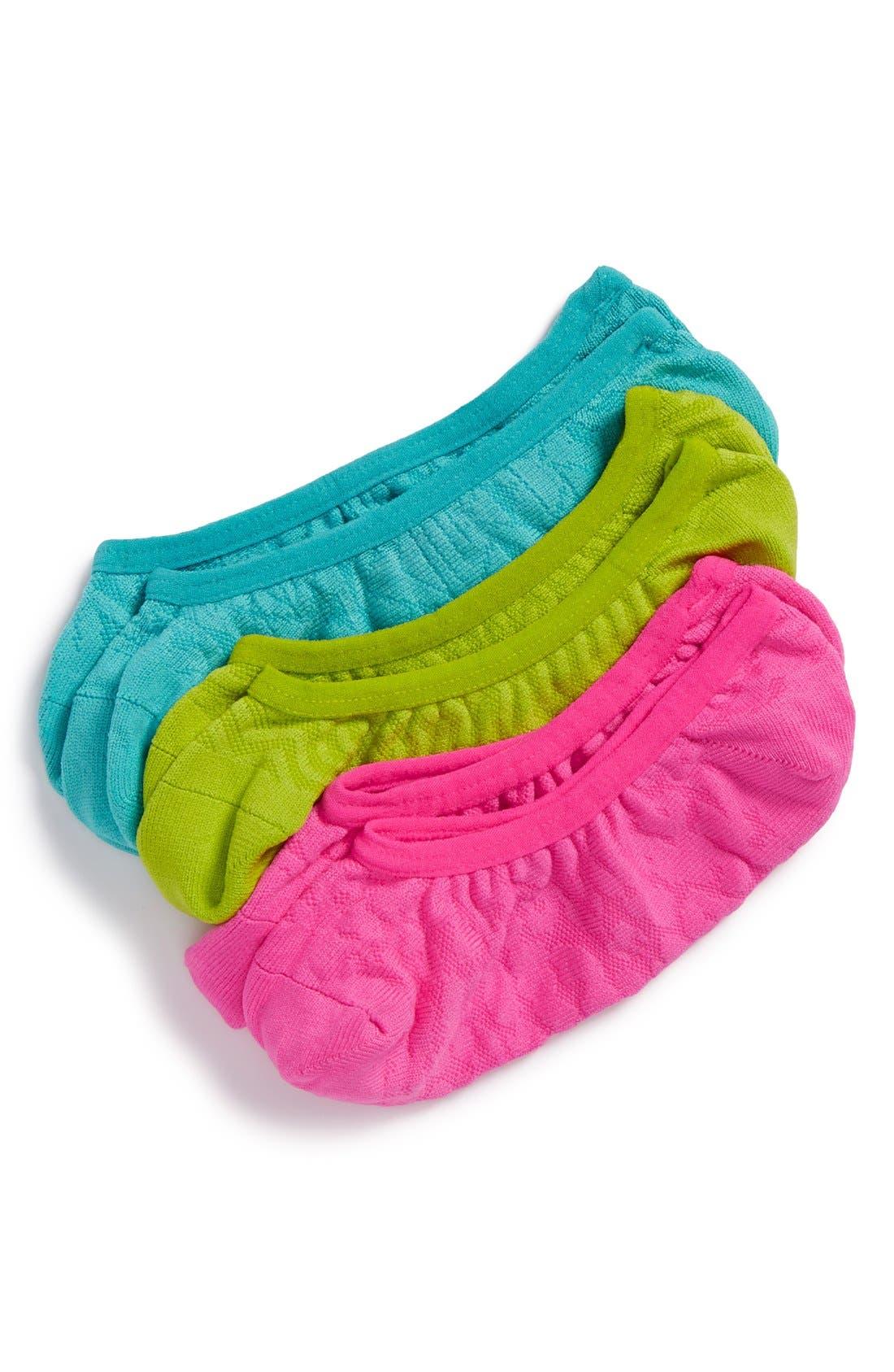 3-Pack Microfiber Tab Performance Socks,                             Main thumbnail 5, color,
