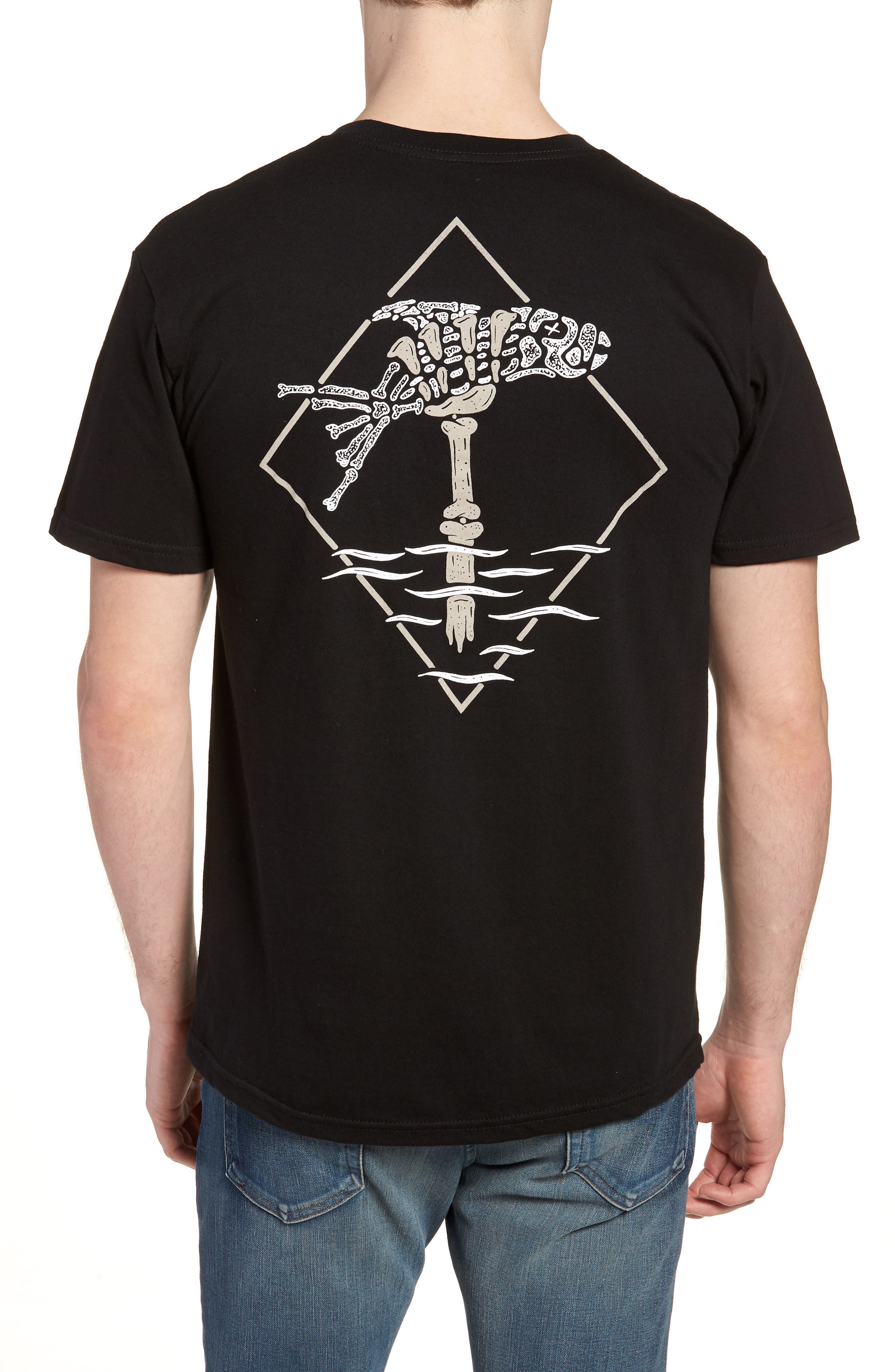 Fisher Graphic T-Shirt,                             Alternate thumbnail 2, color,                             001