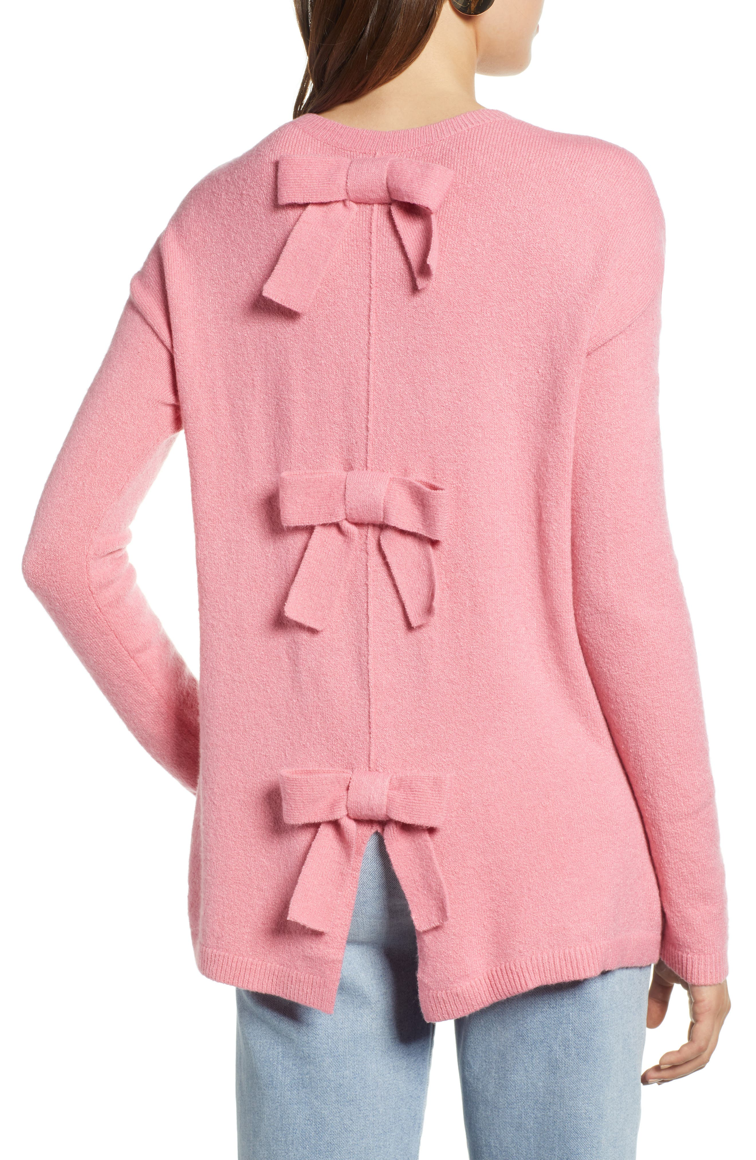 Bow Back Sweater,                             Alternate thumbnail 2, color,                             660