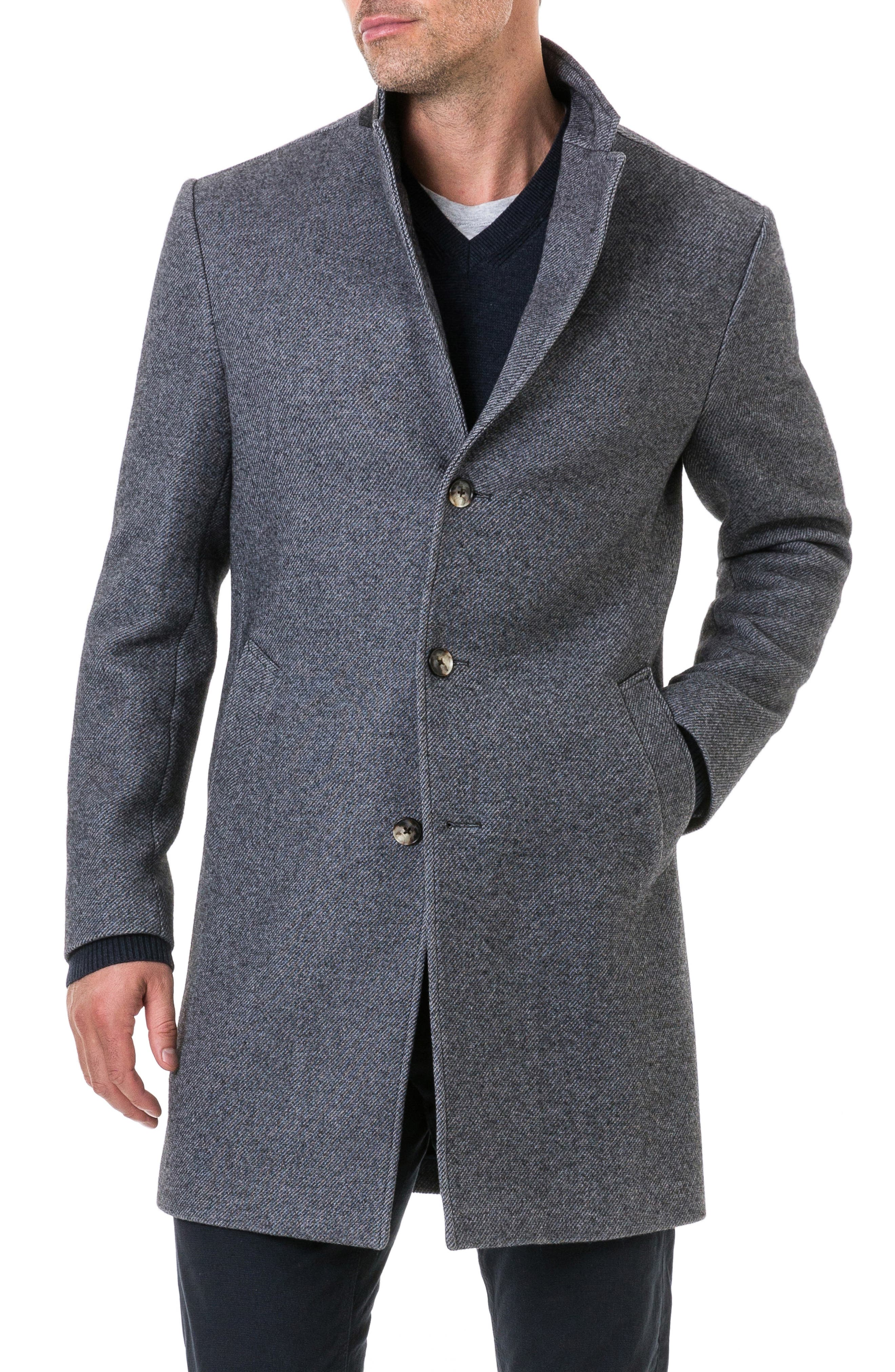 Calton Hill Wool Blend Coat,                         Main,                         color, 020