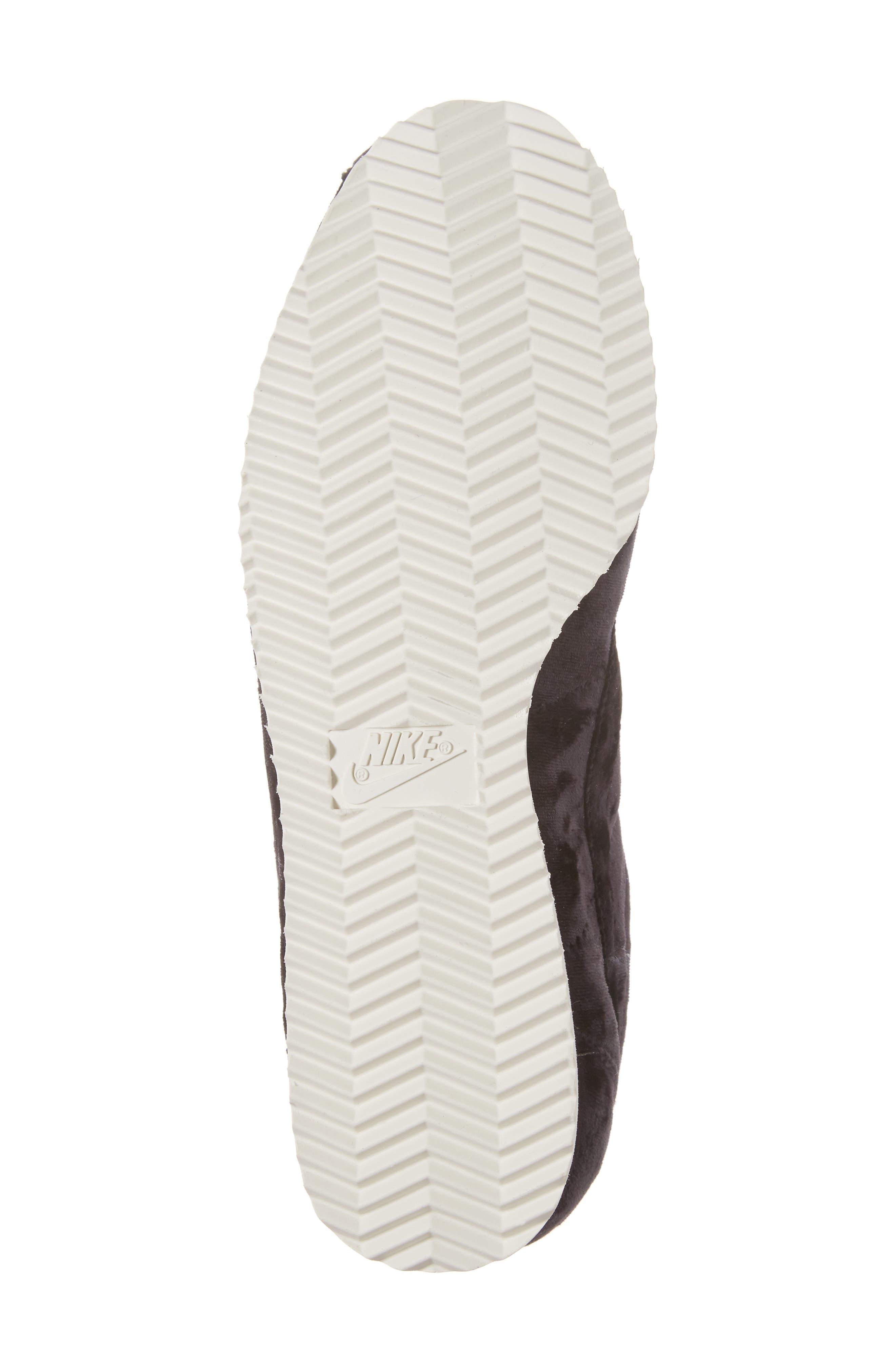 Cortez Classic LX Sneaker,                             Alternate thumbnail 6, color,                             001