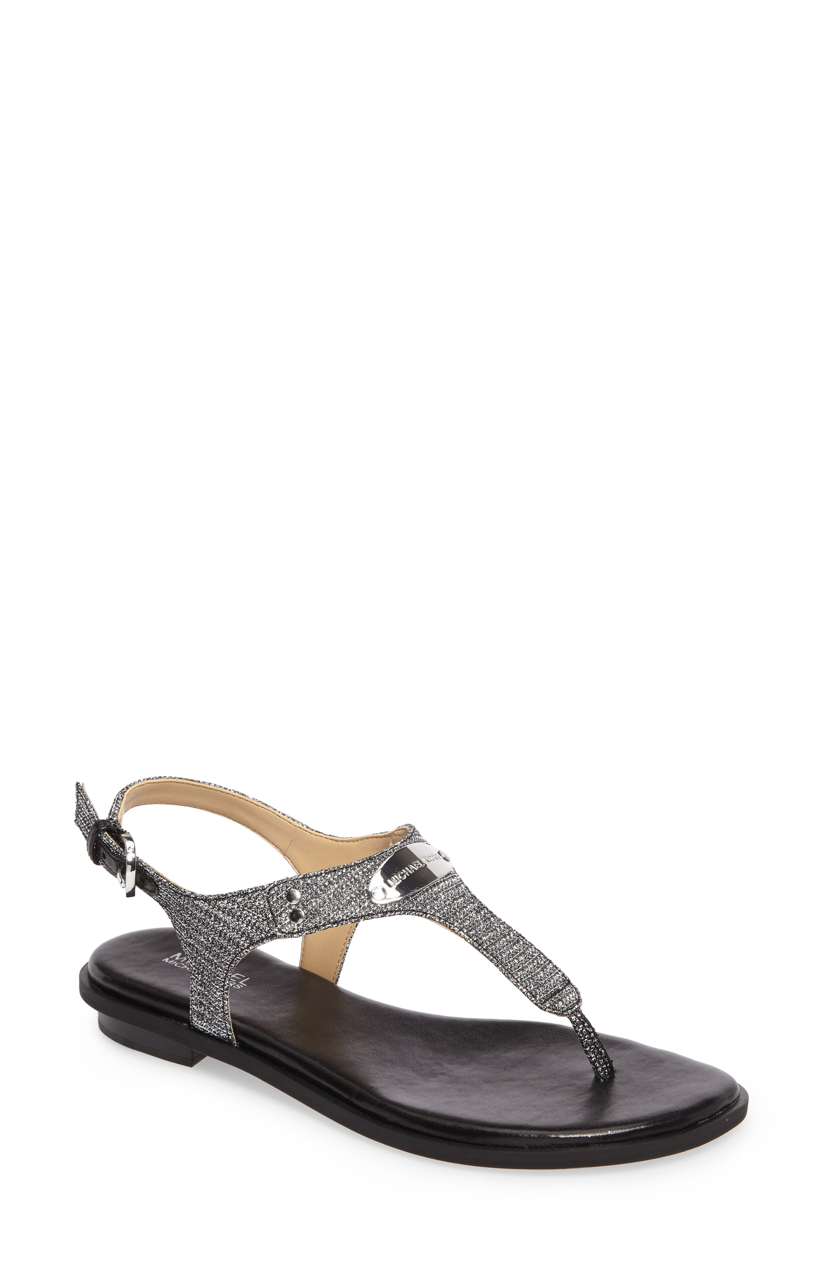 'Plate' Thong Sandal, Main, color, 040