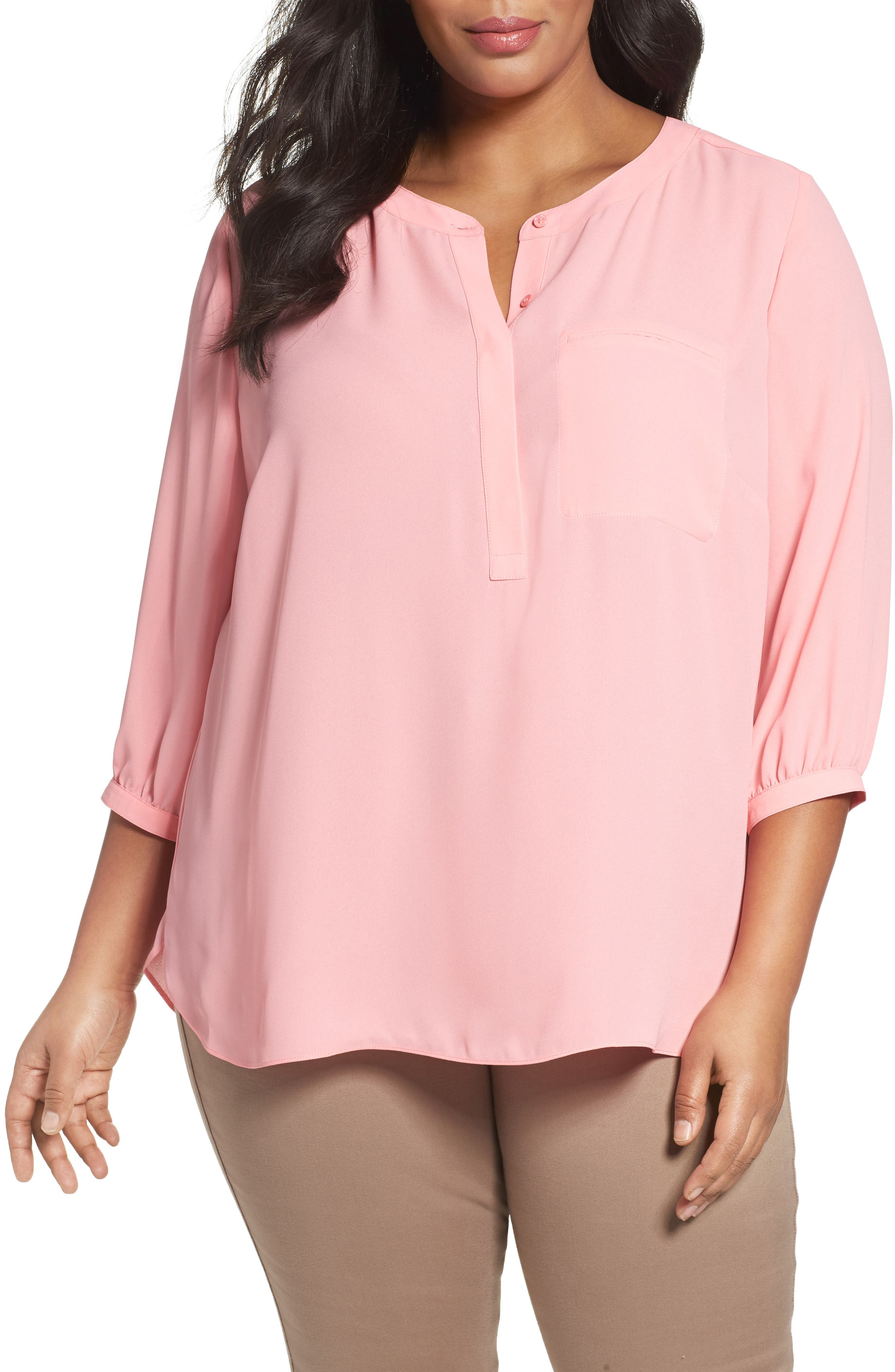 Henley Top,                             Alternate thumbnail 180, color,