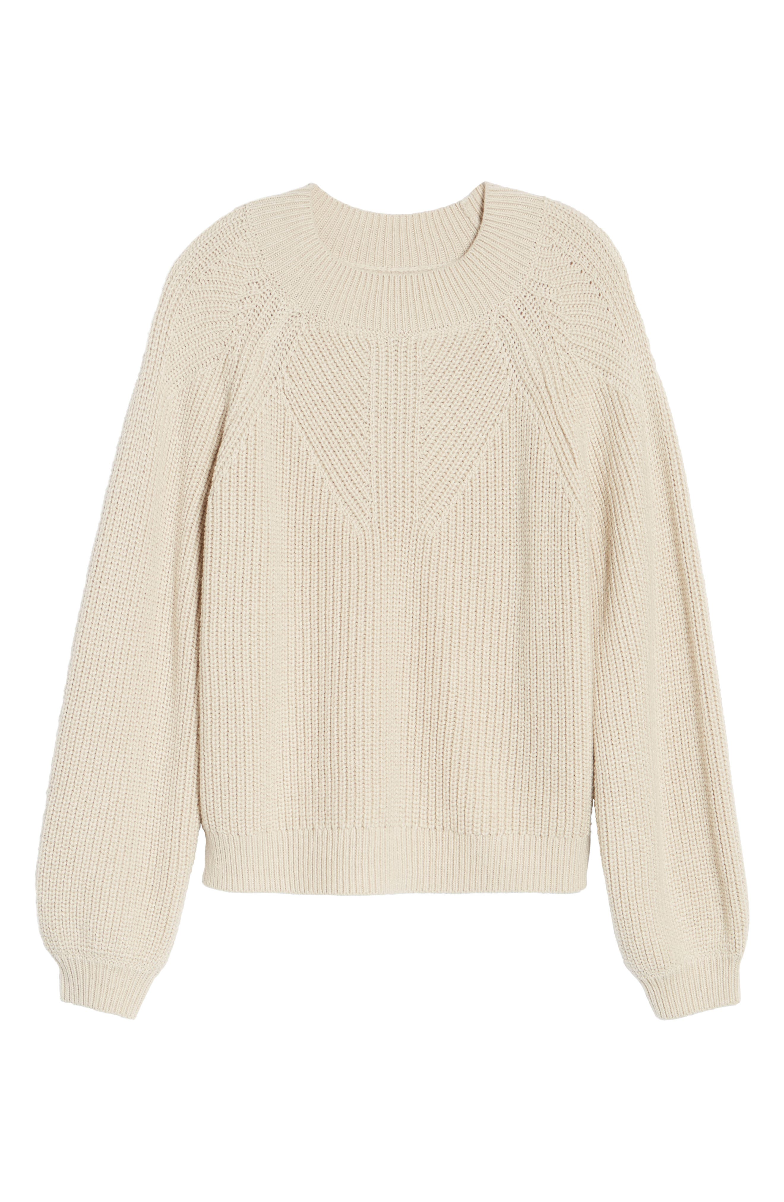 Shaker Stitch Sweater,                             Alternate thumbnail 6, color,                             270