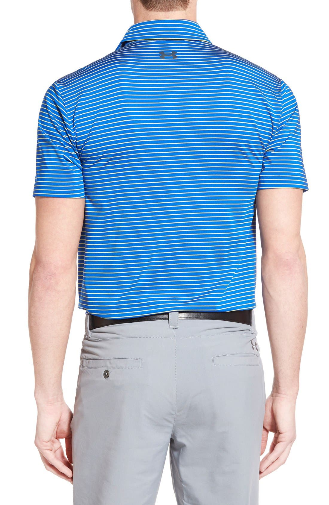 'Playoff' Loose Fit Short Sleeve Polo,                             Alternate thumbnail 199, color,