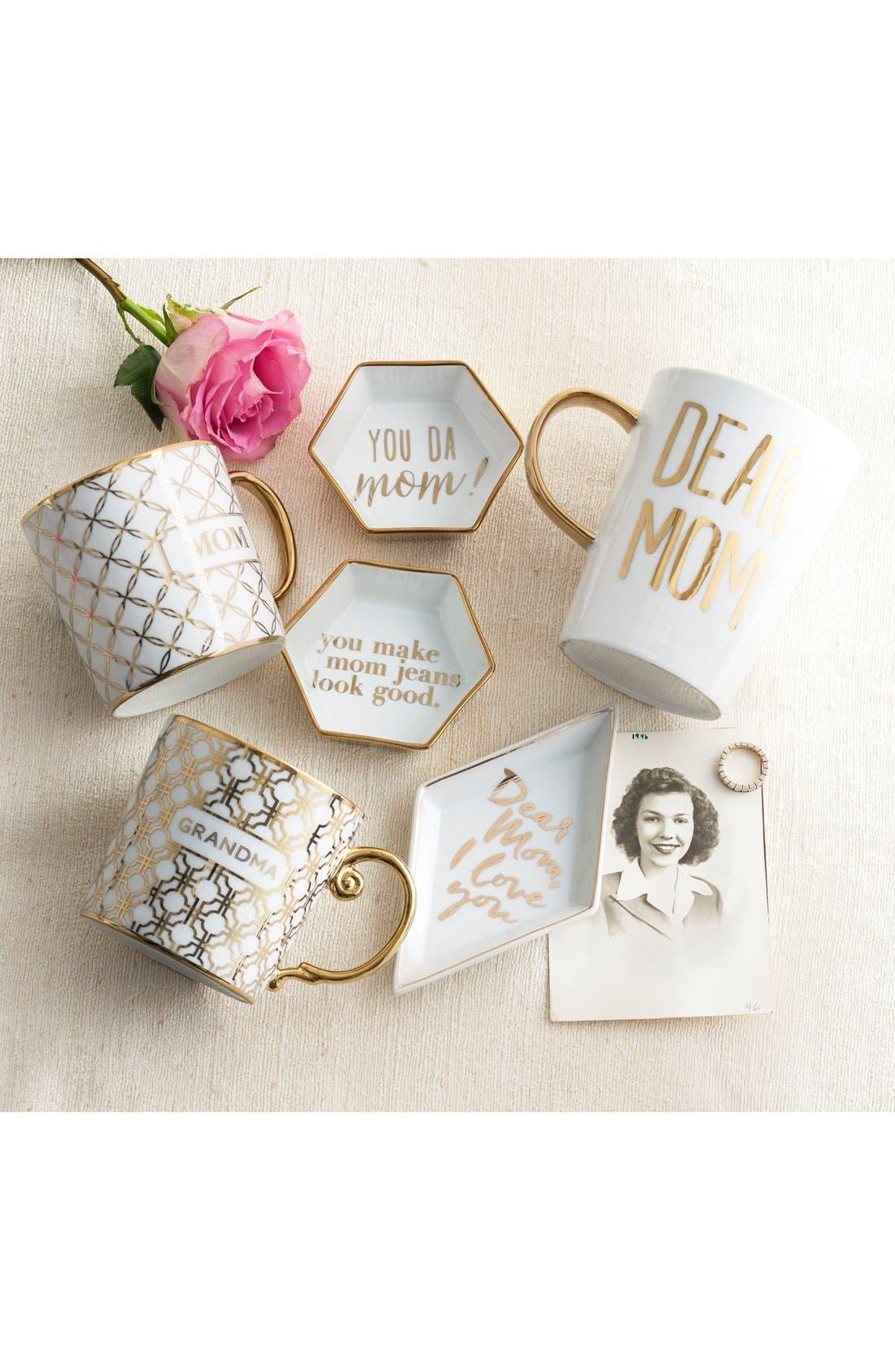 'Mom' Porcelain Coffee Mug,                             Alternate thumbnail 2, color,                             100