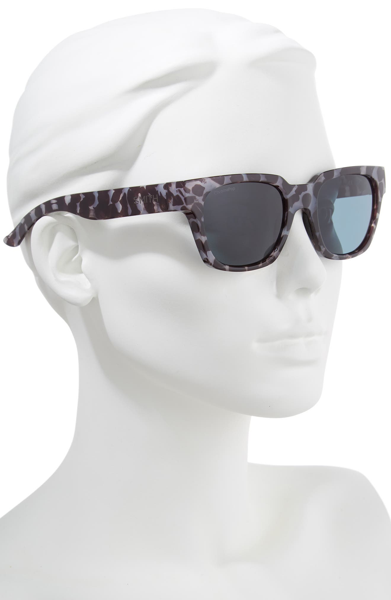 'Comstock' 52mm Rectangular Sunglasses,                             Alternate thumbnail 2, color,                             CHOCOLATE TORTOISE