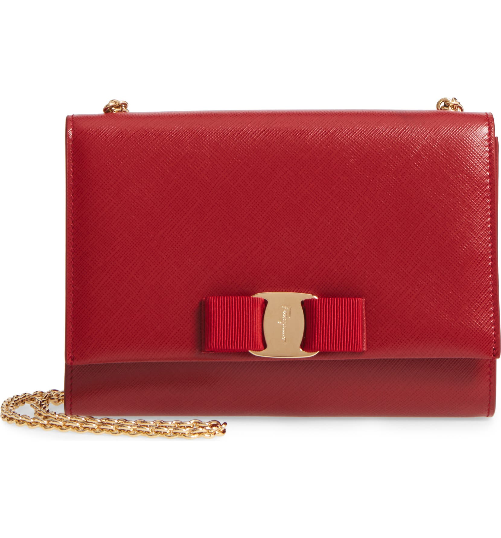 Salvatore Ferragamo Mini Vara Leather Crossbody Bag  0ed97743879ea