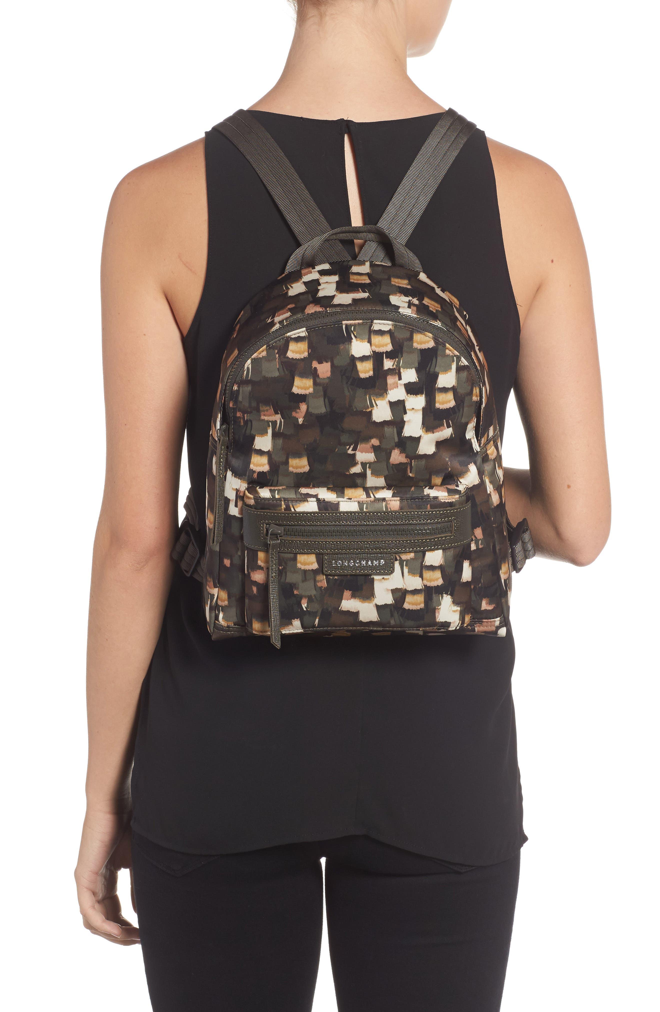 Le Pliage Neo - Vibrations Nylon Backpack,                             Alternate thumbnail 2, color,                             300