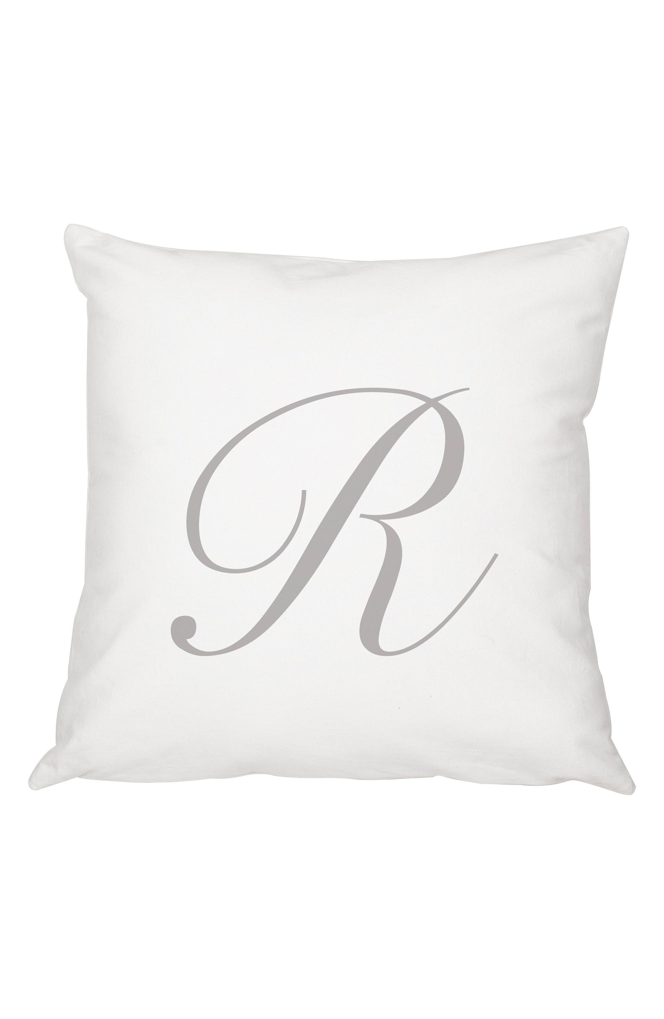 Script Monogram Accent Pillow,                             Main thumbnail 18, color,