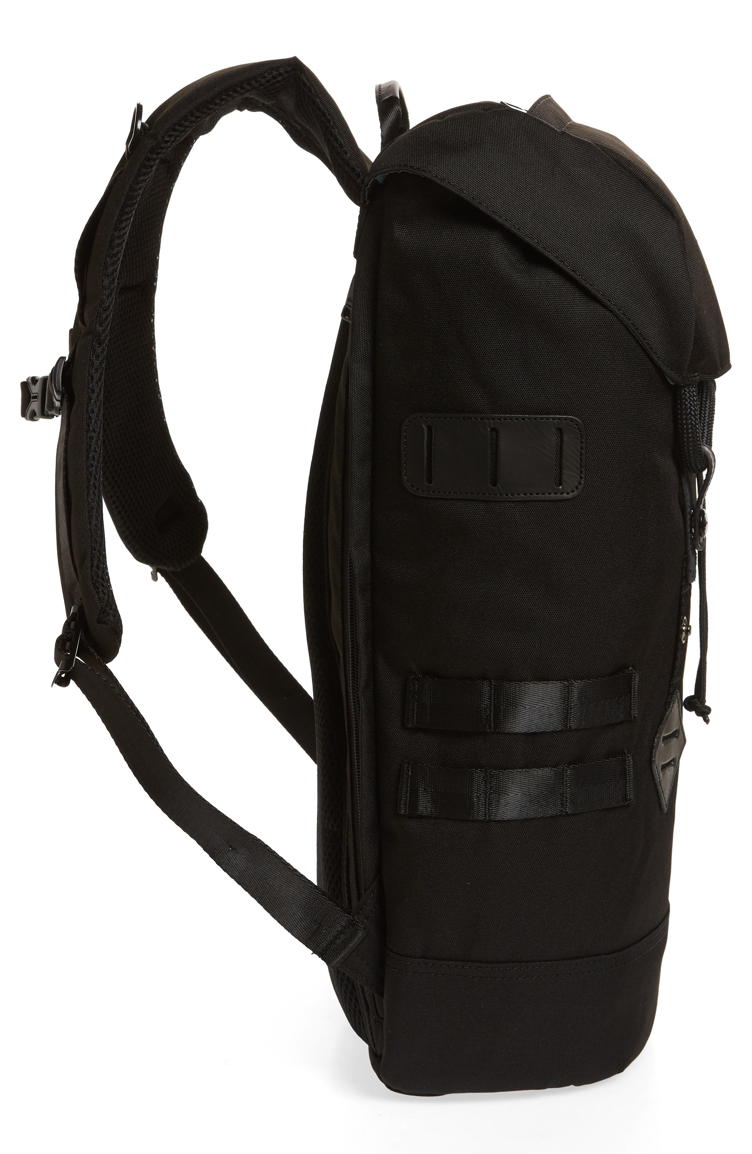 Colorado Black Series Water Repellent Backpack,                             Alternate thumbnail 5, color,                             BLACK