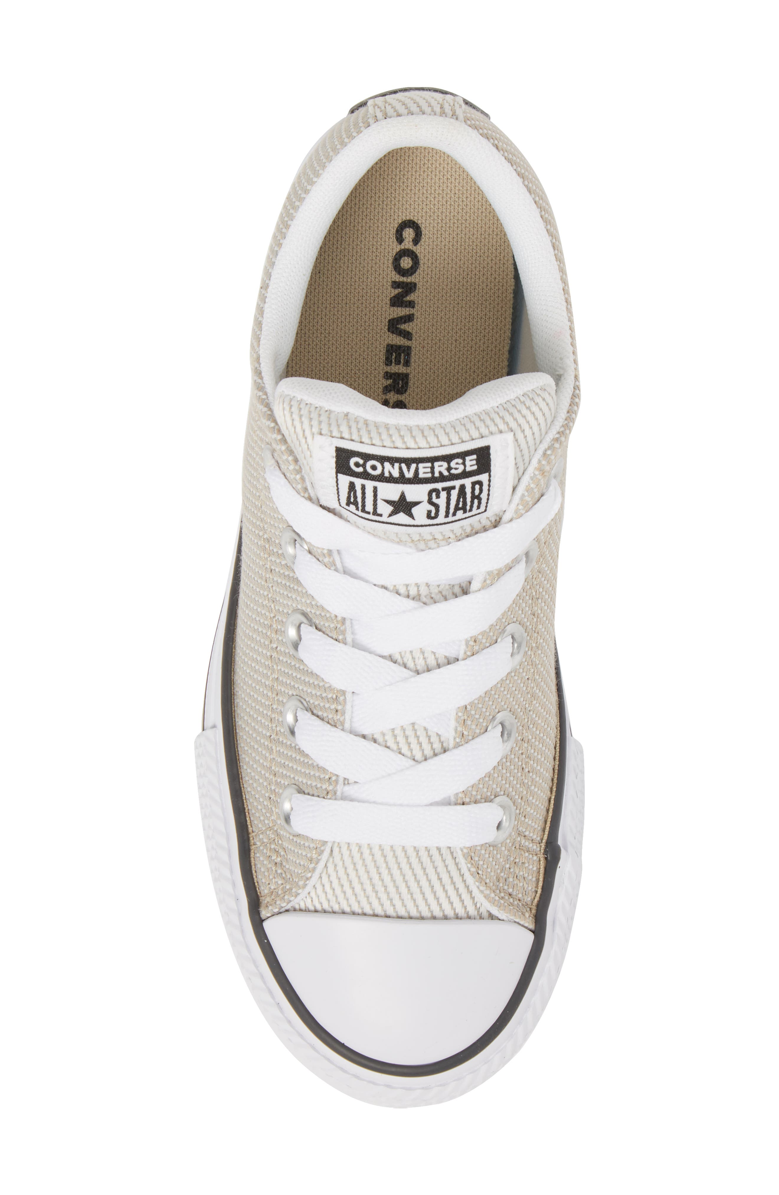 Chuck Taylor<sup>®</sup> All Star<sup>®</sup> Woven Street Sneaker,                             Alternate thumbnail 5, color,                             VINTAGE KHAKI