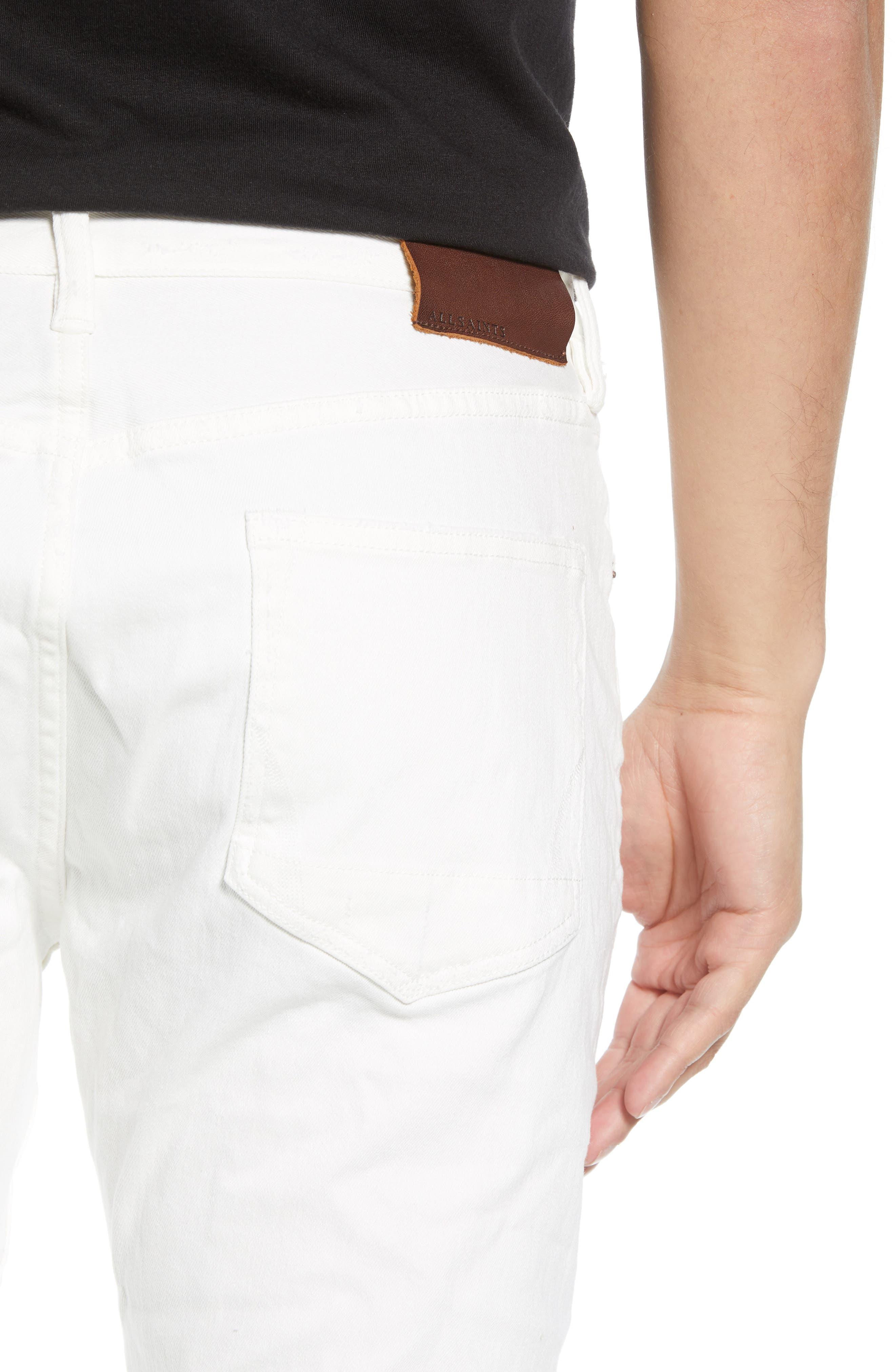 Weott Rex Slim Fit Jeans,                             Alternate thumbnail 4, color,                             100