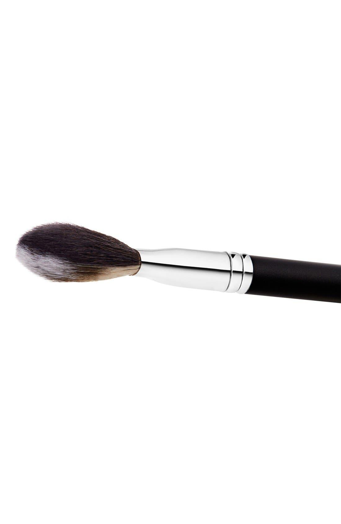 MAC 127 Split Fibre Face Brush,                             Alternate thumbnail 9, color,                             000