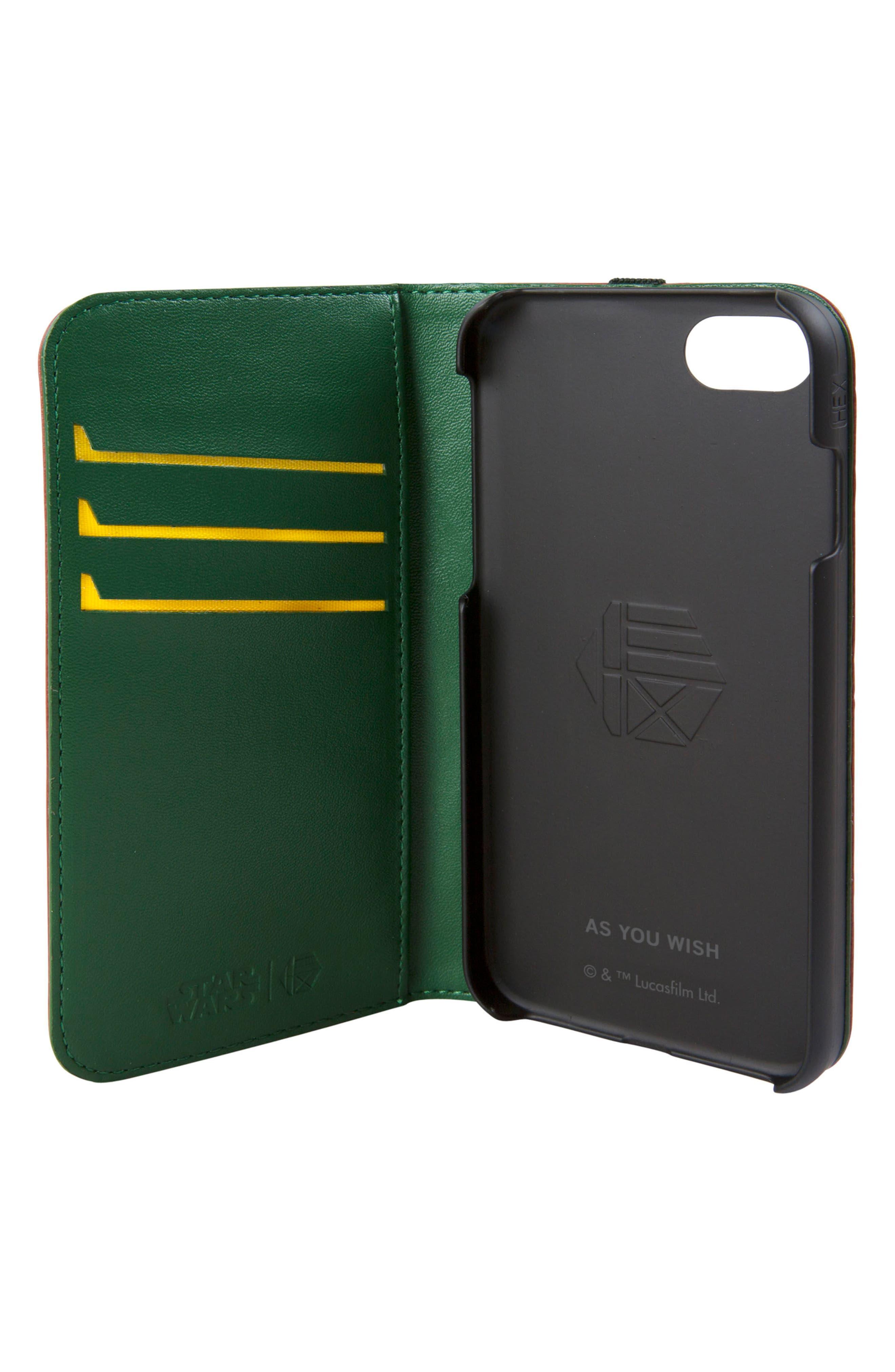 R2-D2 iPhone 6/6s/7/8 Wallet Case,                             Alternate thumbnail 2, color,                             932