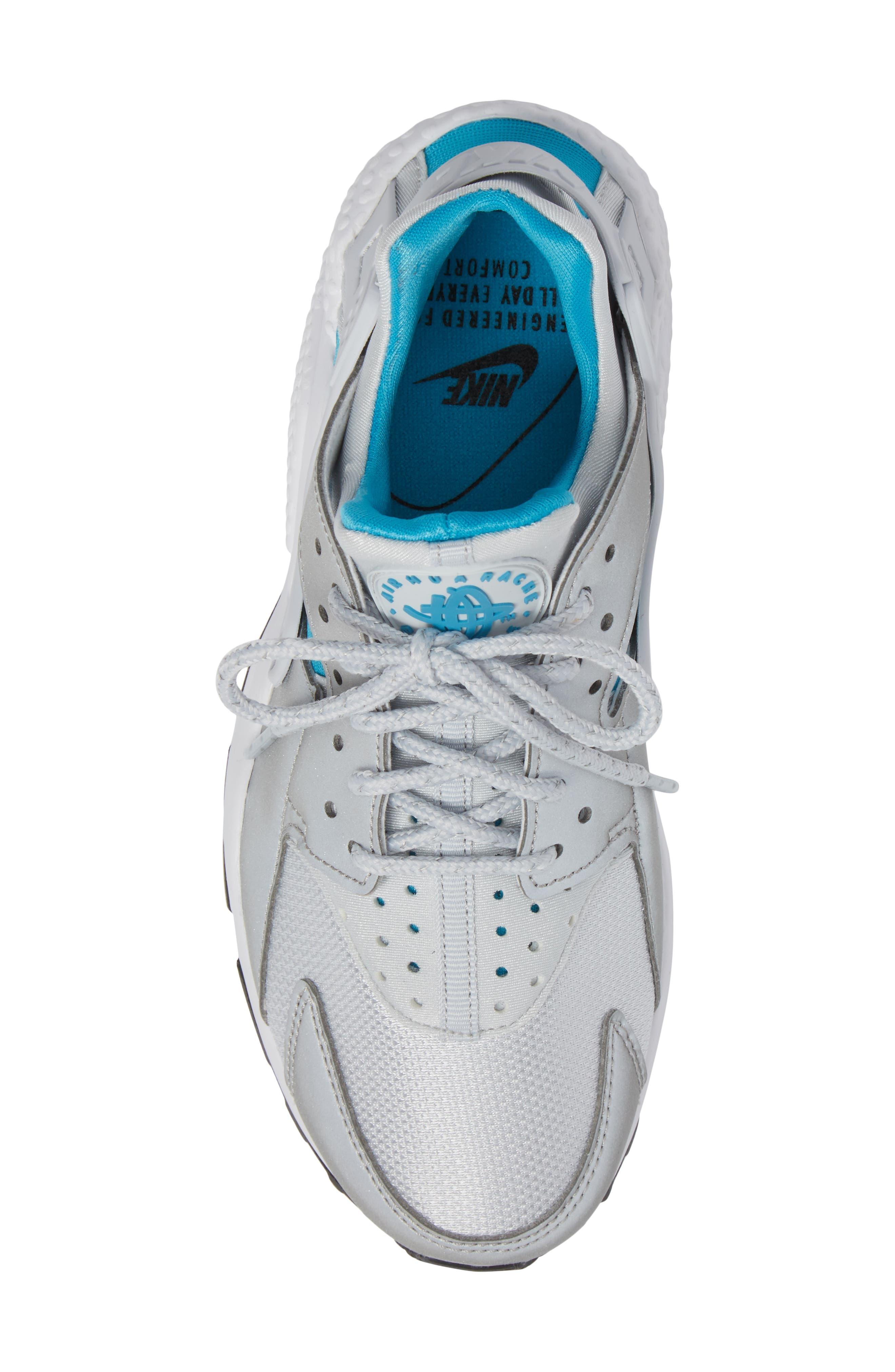 Air Huarache Run QS Sneaker,                             Alternate thumbnail 5, color,
