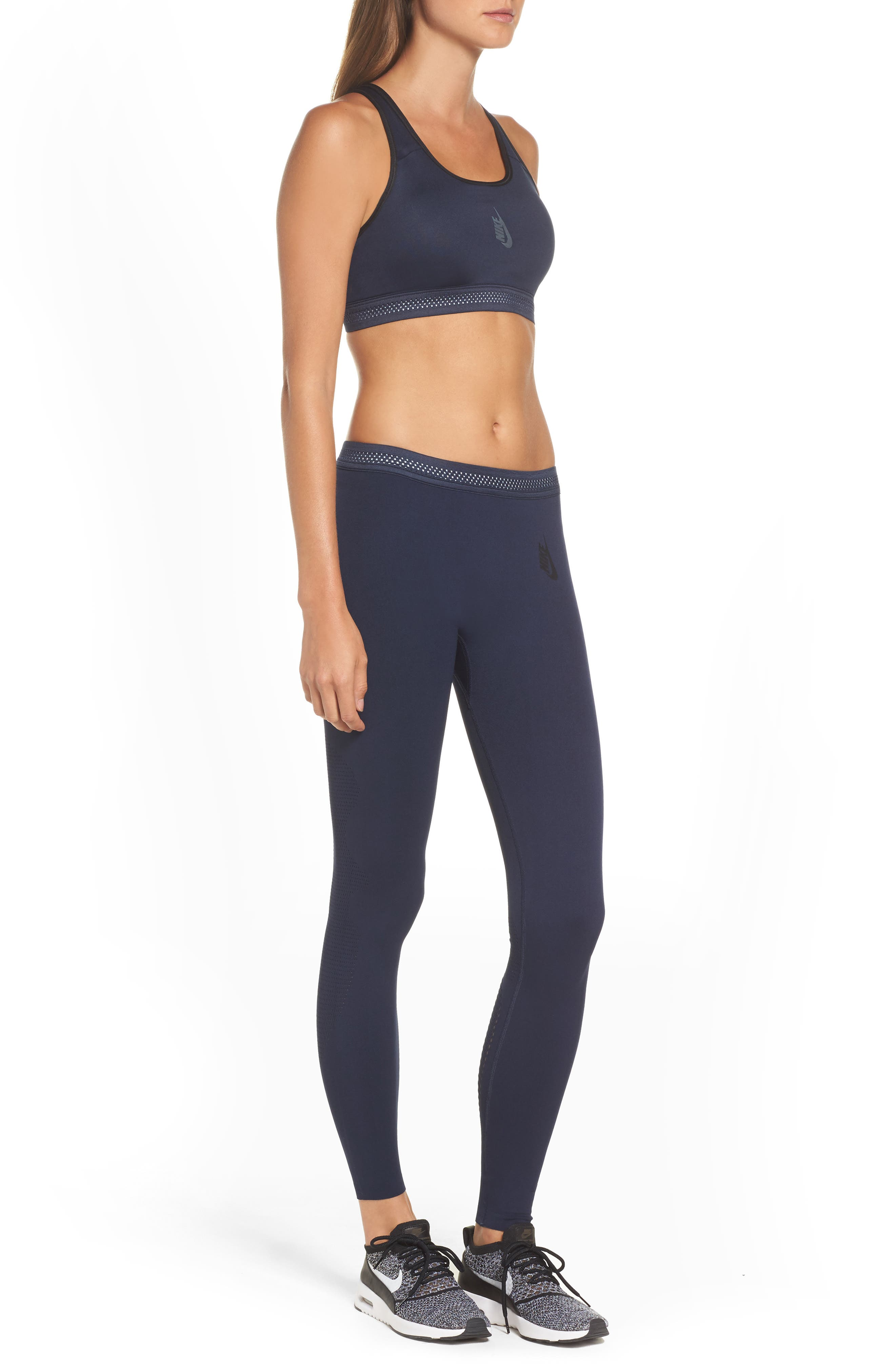 NikeLab Essential Training Sports Bra,                             Alternate thumbnail 19, color,
